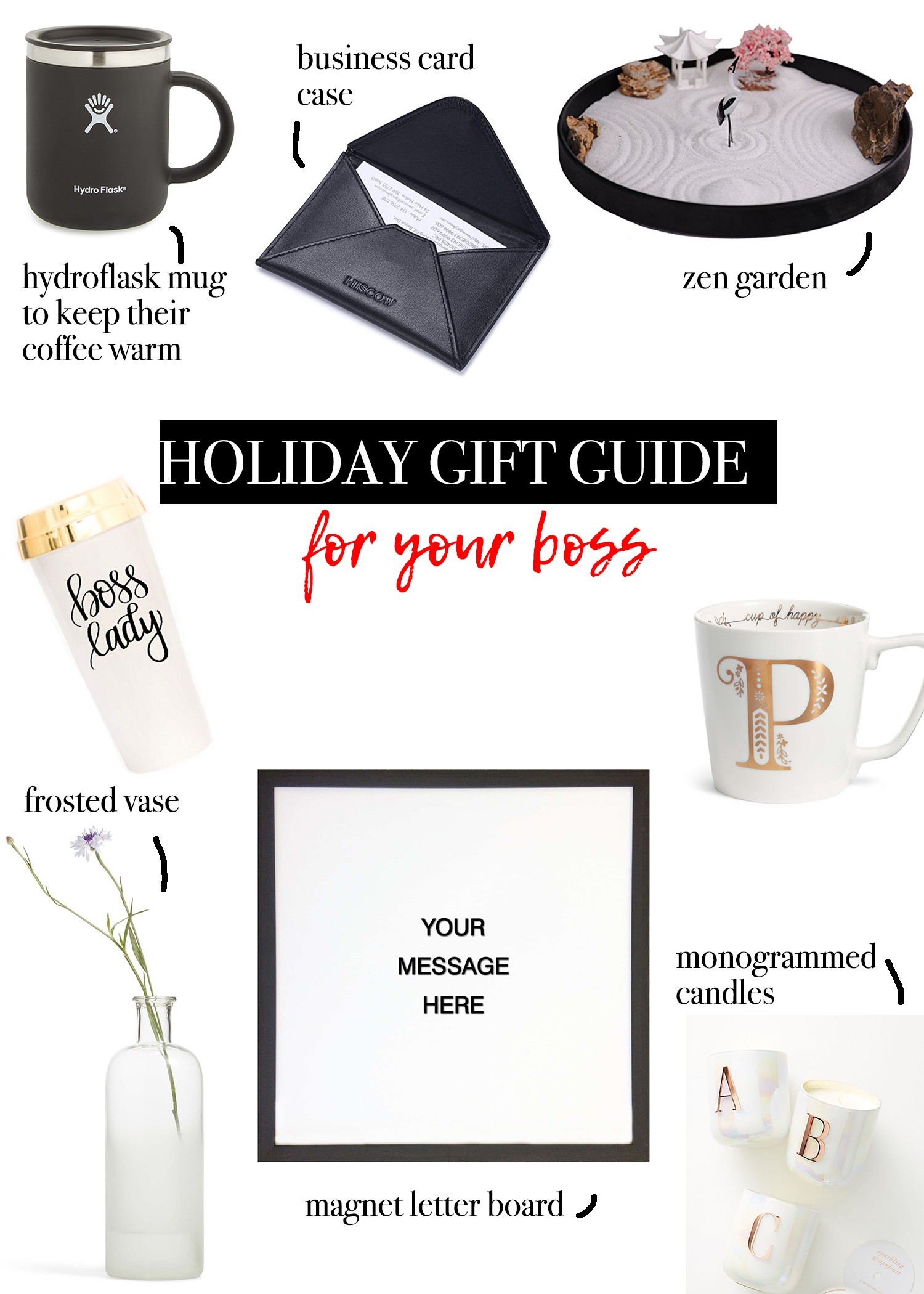 CHRISTMAS GIFTS FOR YOUR BOSS | The Navy Blonde