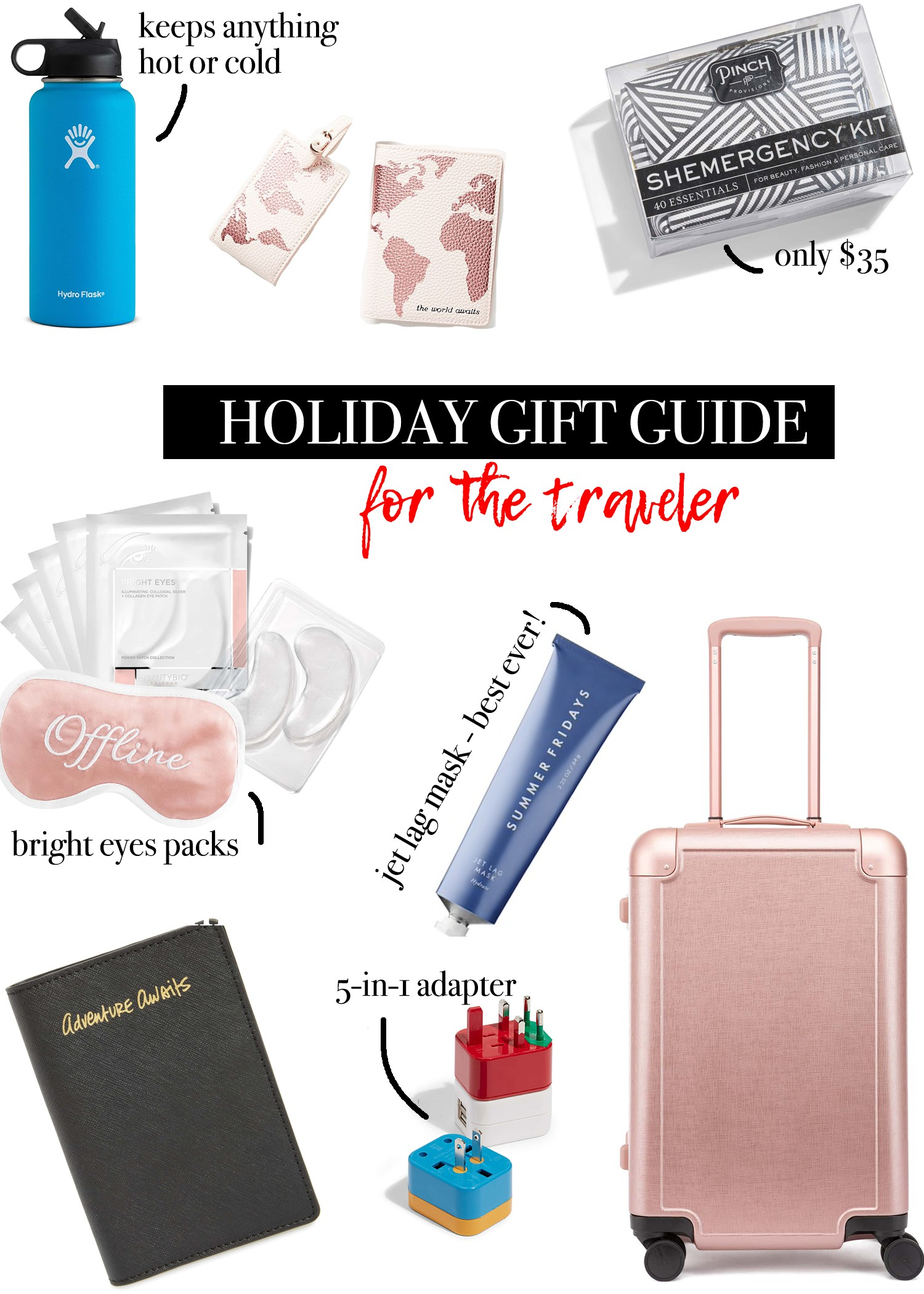 CHRISTMAS GIFTS FOR THE TRAVELER | The Navy Blonde