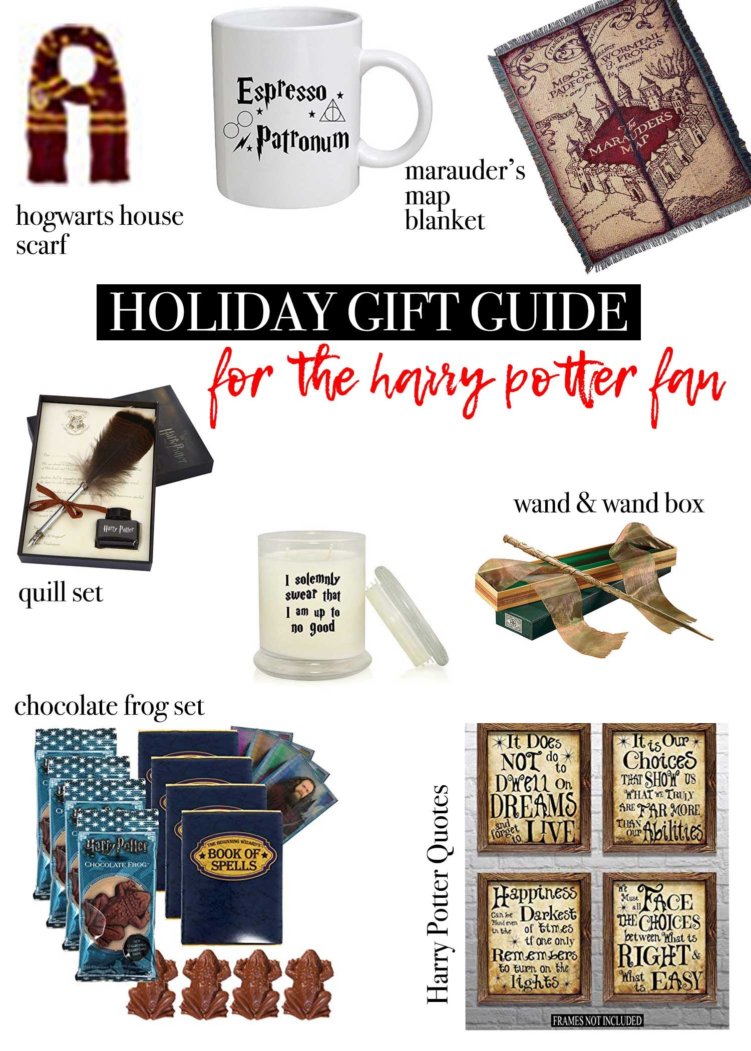 want to see all the holiday gift guides click the ones that interest you below gifts for the fashionista gifts for the harry potter fan