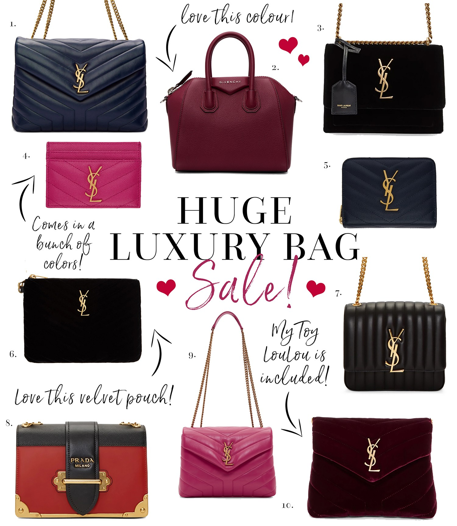 8e03a7779b5d HUGE Luxury Bag Sale - Chase Amie