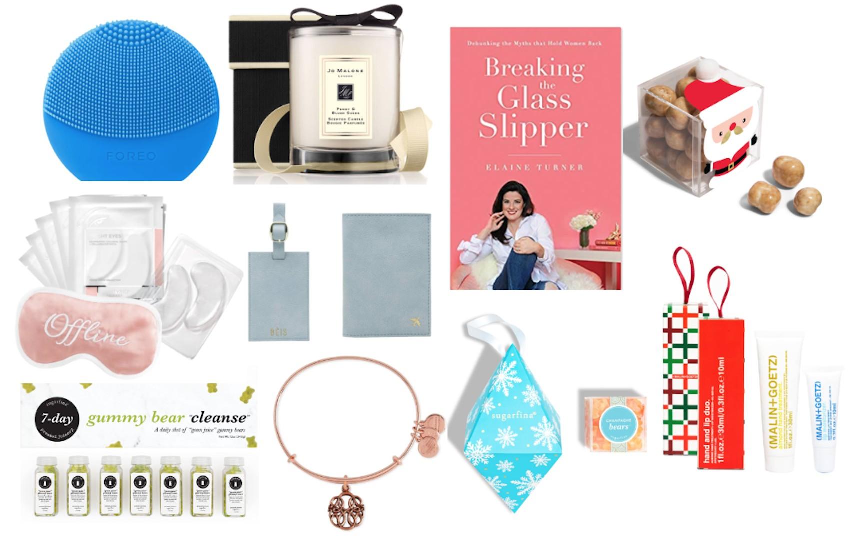 2018 Christmas Stocking Stuffers - Gift Exchange Ideas - Red-rhinestone