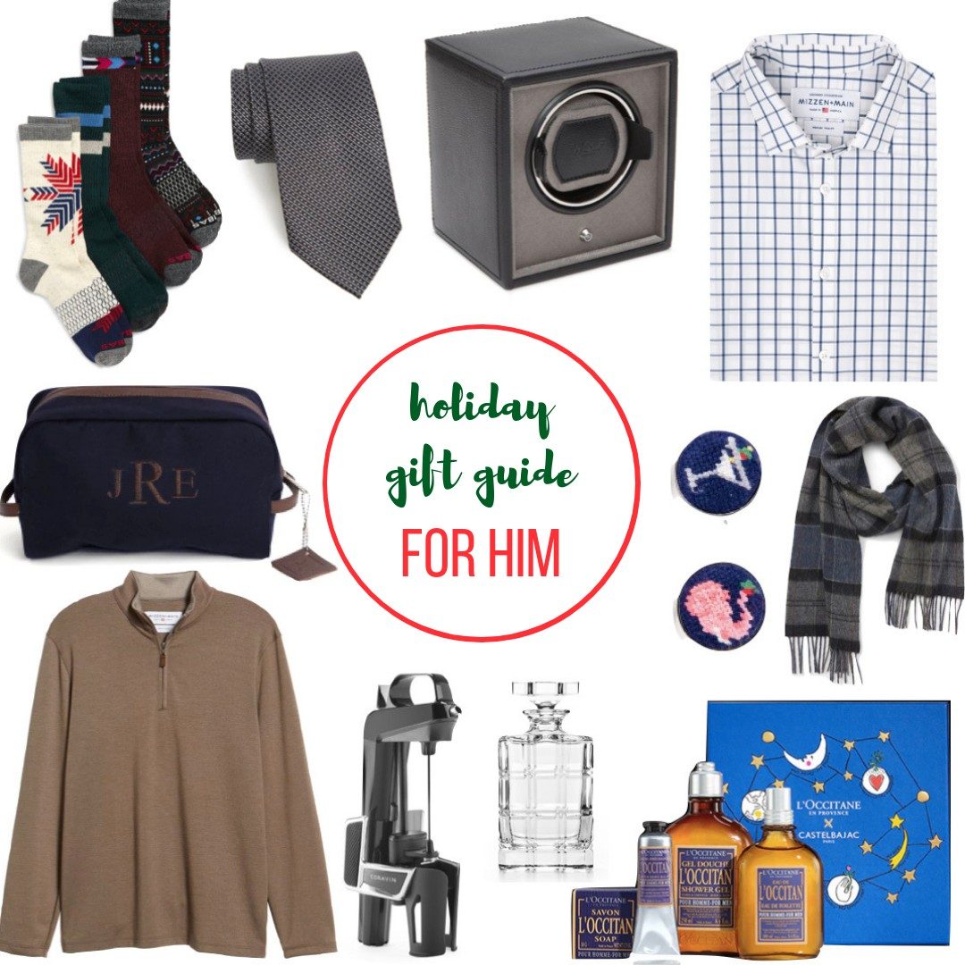 """Today I m sharing my next Holiday Gift Guide…Gifts For Him. You can find  all of my Gift Guides here. Or, just hover over """"Gift Guide"""" in the  navigation bar ... 06bb7d3665"""
