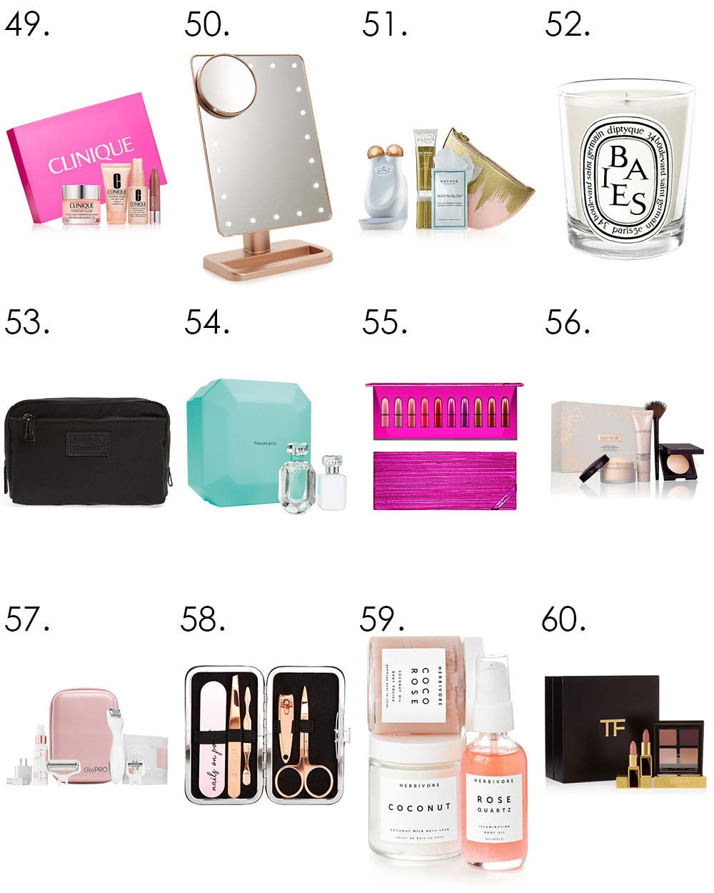 Top 100 Gift Ideas for Beauty Lovers