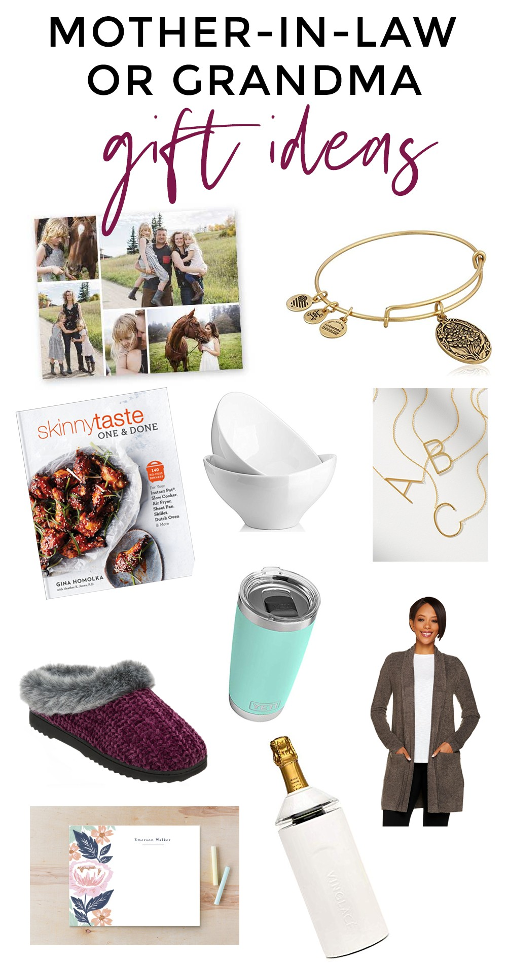Gift Guide for the Grandma or Mother-in-Law | Meg O  on the Go