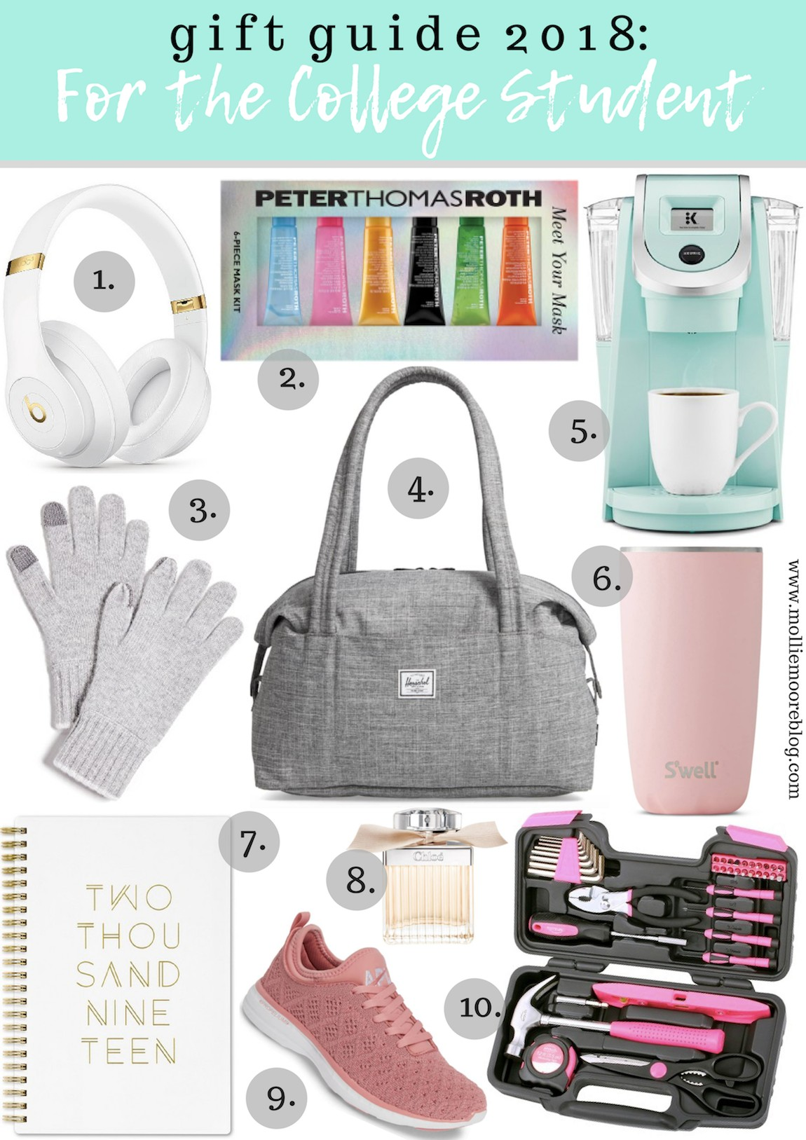 Gift Ideas For College Students Holiday Mollie Moore