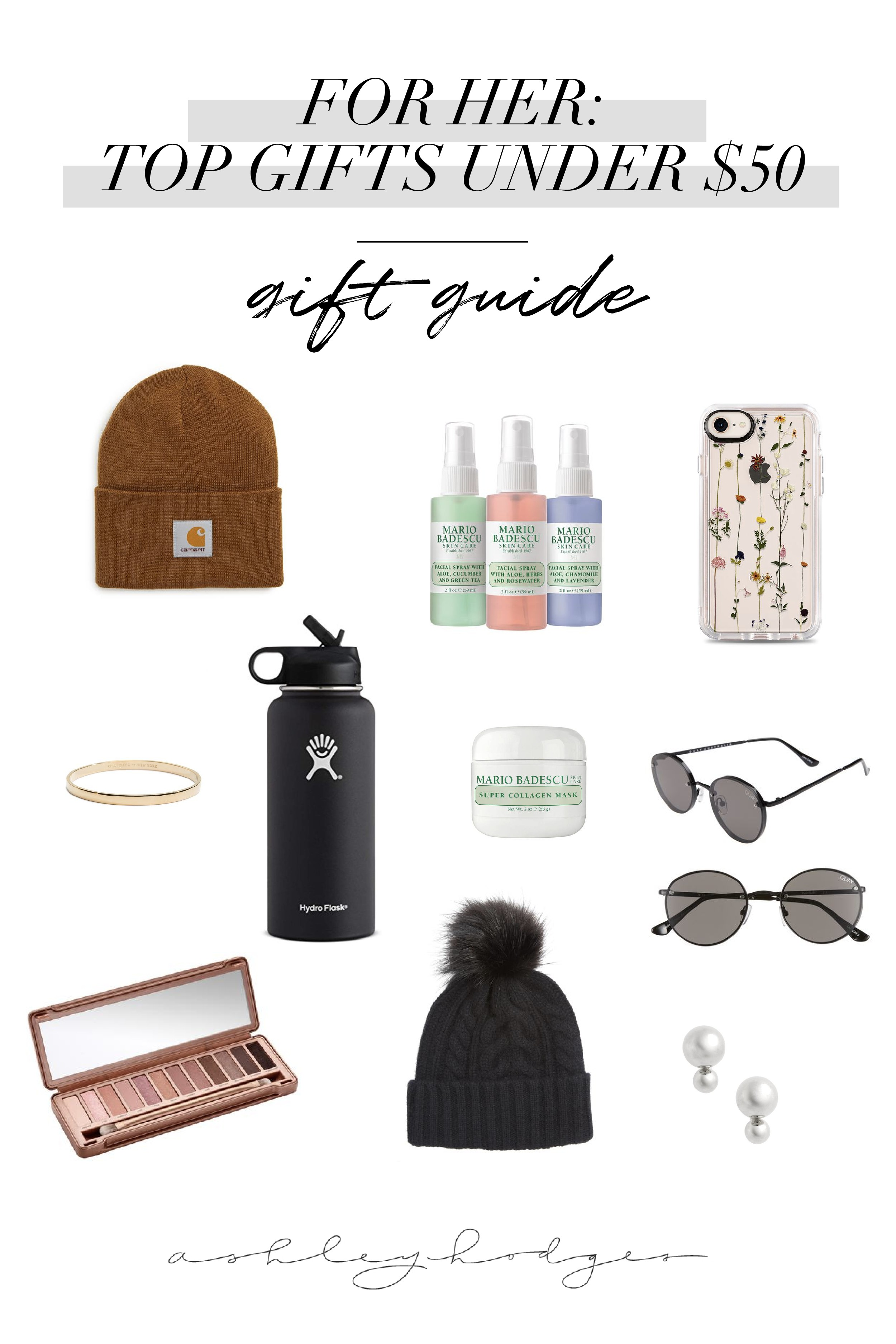 Top Gift Guide Best Gifts For Her Under 50