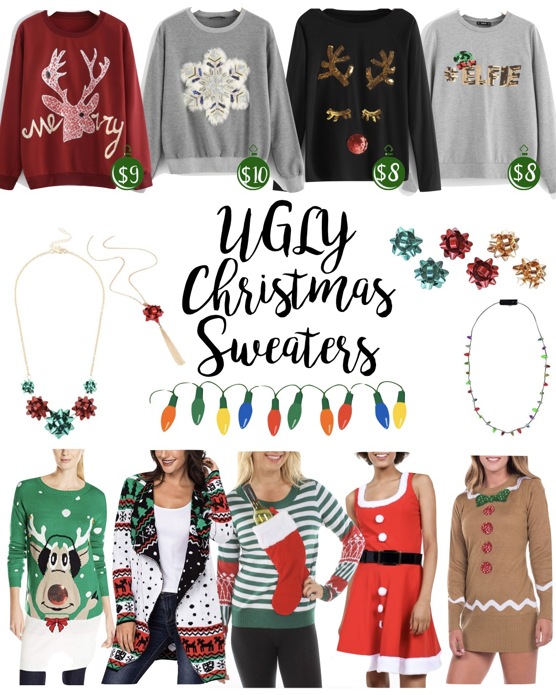 Ugly Christmas Sweater Ideas - Simply Sheppard
