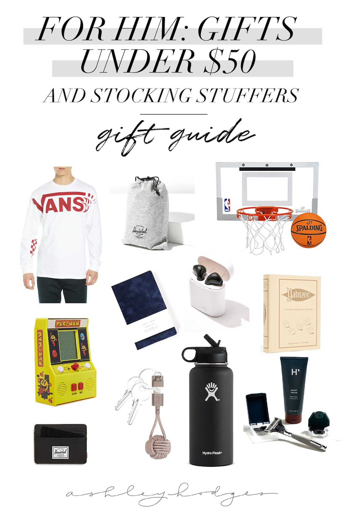 Top Gift Guide Gifts For Him Under 50 Stocking Stuffers
