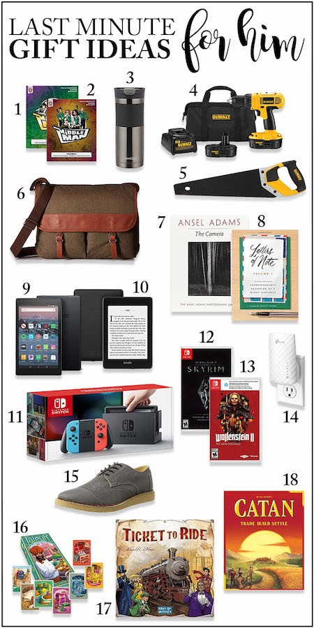 Christmas Gift Ideas Under 10.Last Minute Gift Ideas For Him And Her That Will Arrive By