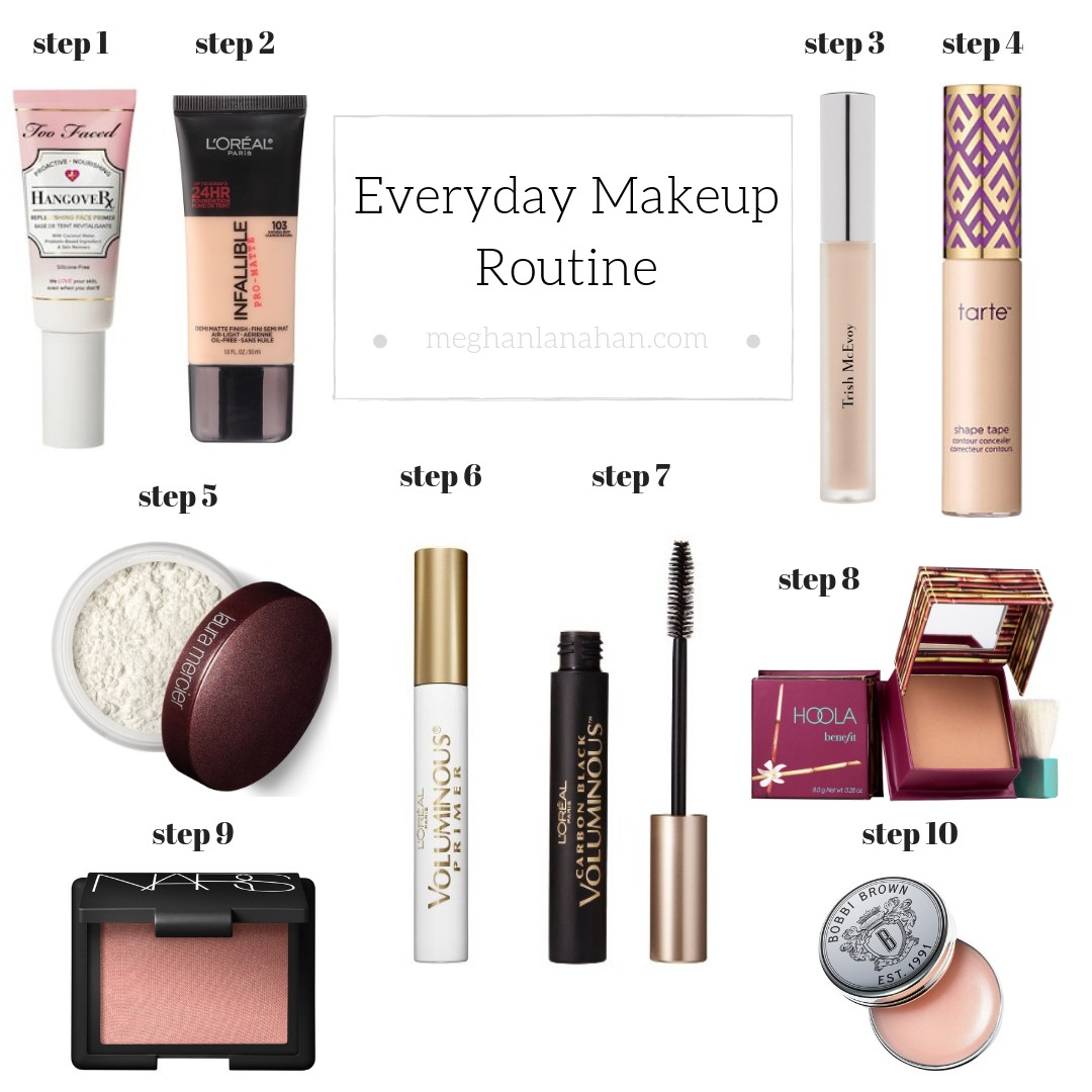 90512a7e021d13 Everyday Makeup Routine. Hi, friends! How is your week going? The little  guy has been battling a cold and cough and my husband returned home from a  business ...