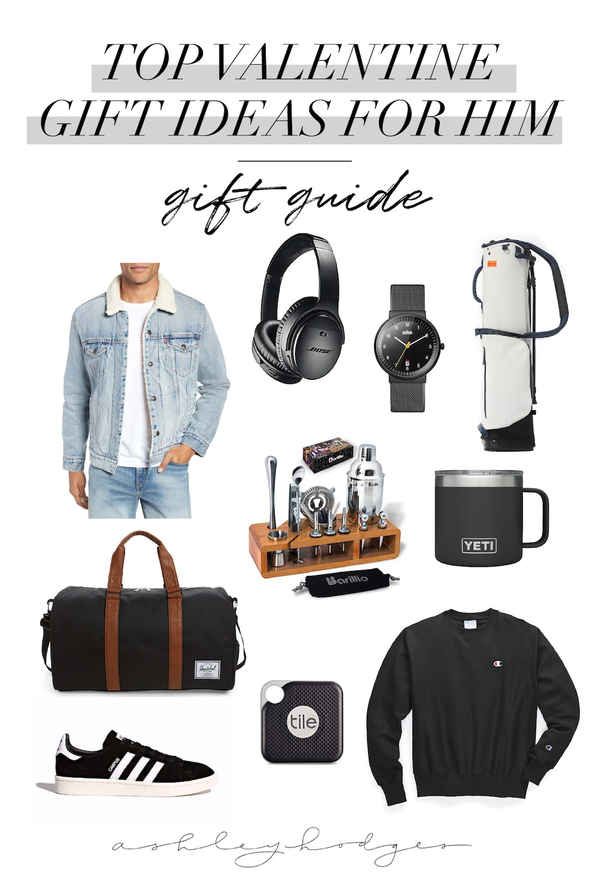 Top 10 Valentines Day Gifts For Him He Ll Love Ashley Hodges