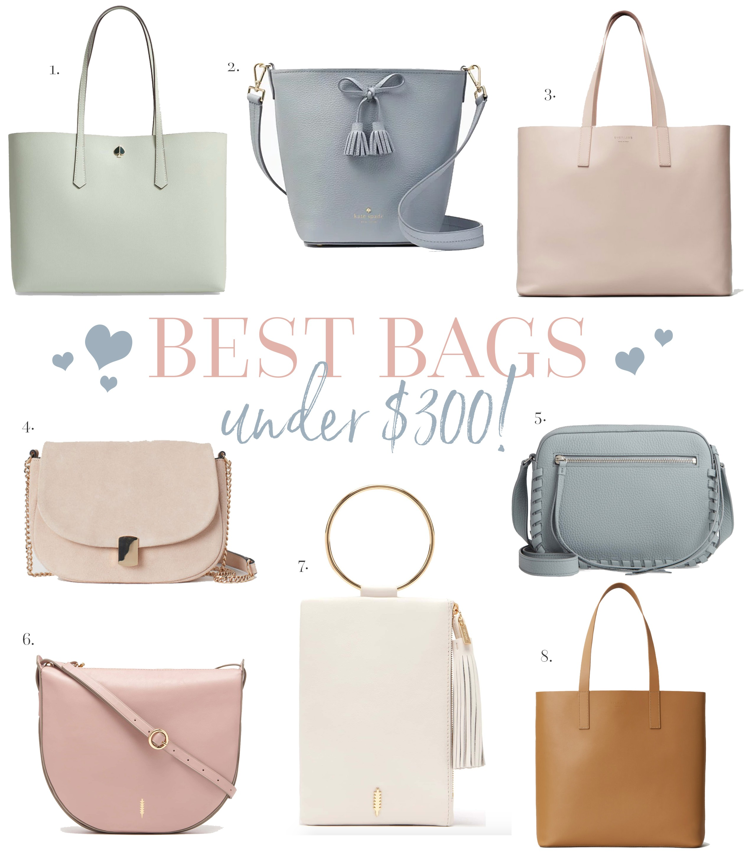 f8e95e6b8 Best Bags Under $300! - Chase Amie