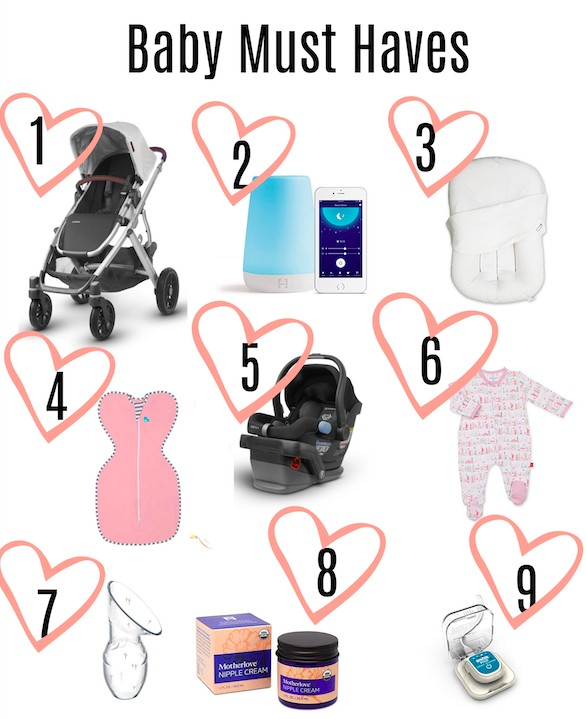 infant items 101