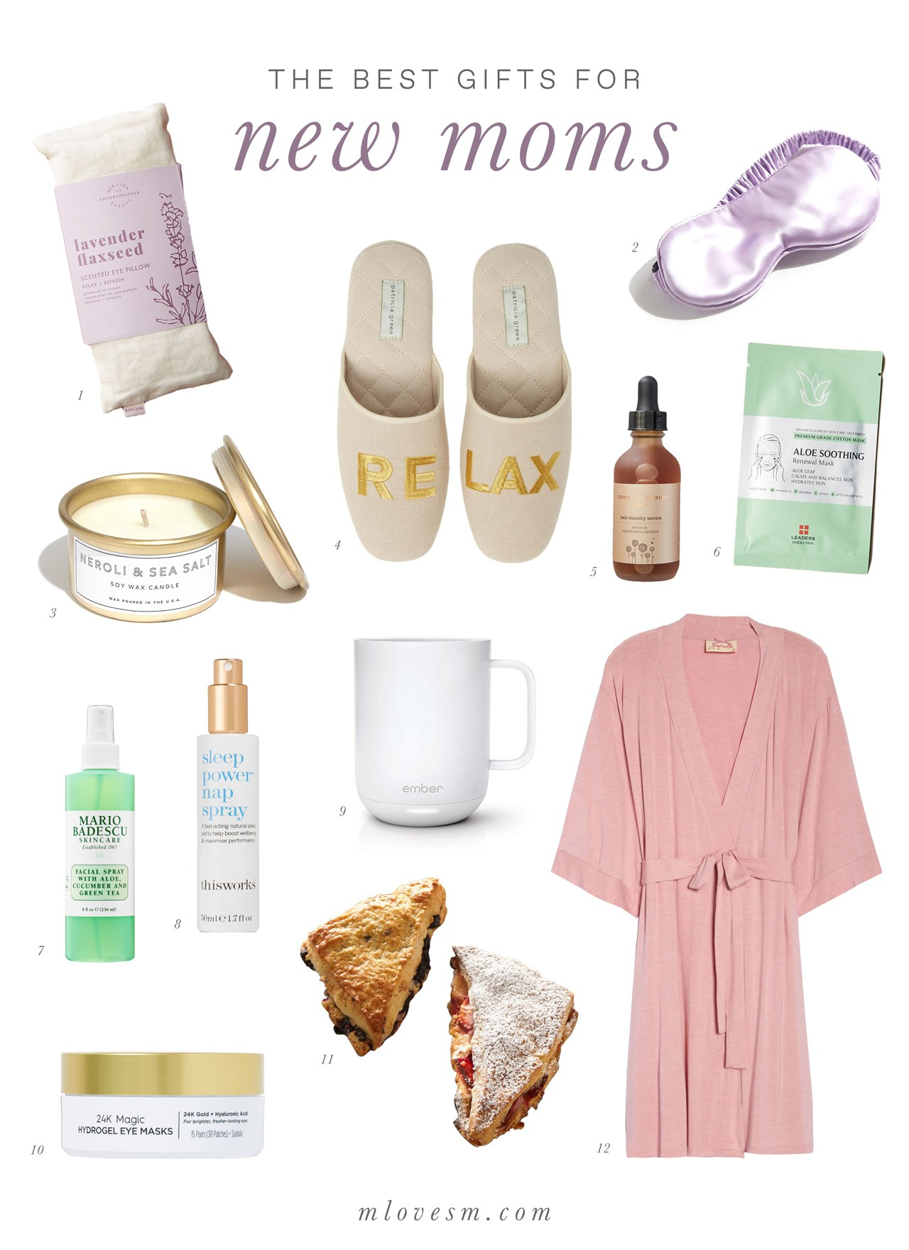 b2070abe1216 The Best Gifts for New Moms | M Loves M