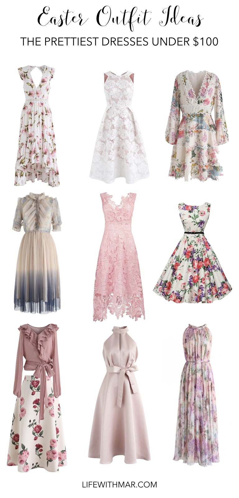 12b73e76c8e9 The Prettiest Easter Dresses Under $100  Life with Mar