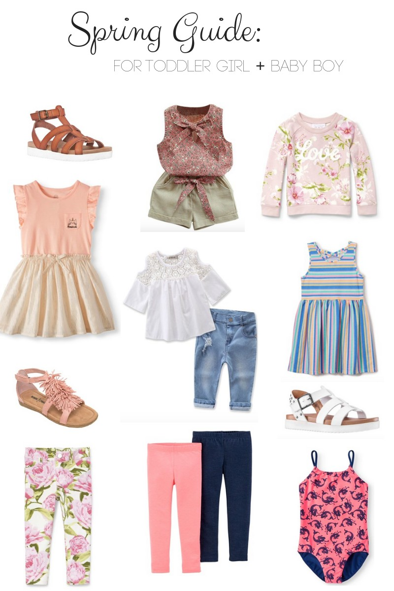 824a883429722 Spring Style Guide: Toddler Girl and Baby Boy Fashion Finds with Walmart!
