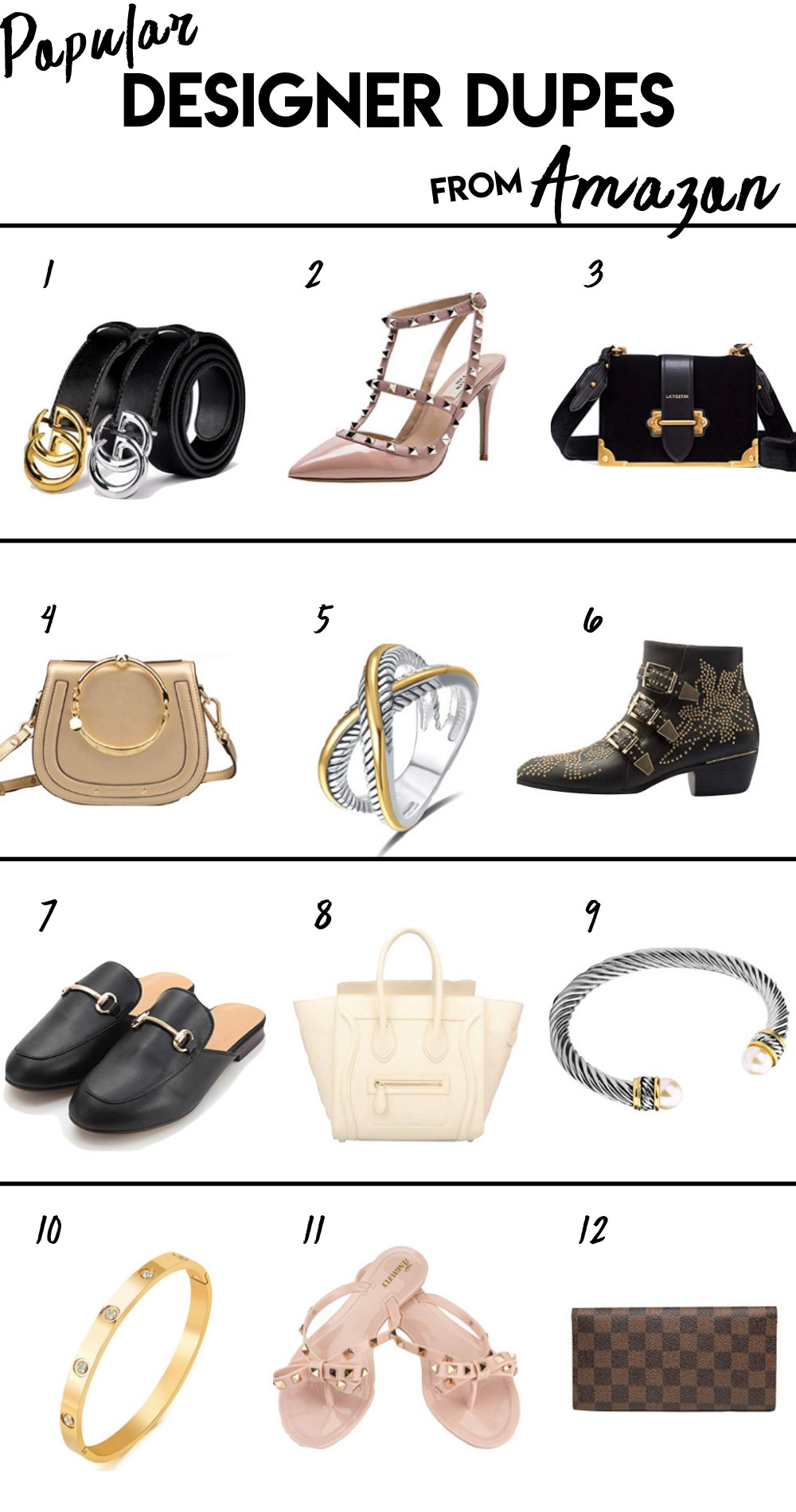 a07e46f2f You Can Find The Best Designer Dupes On Amazon | Busbee Style