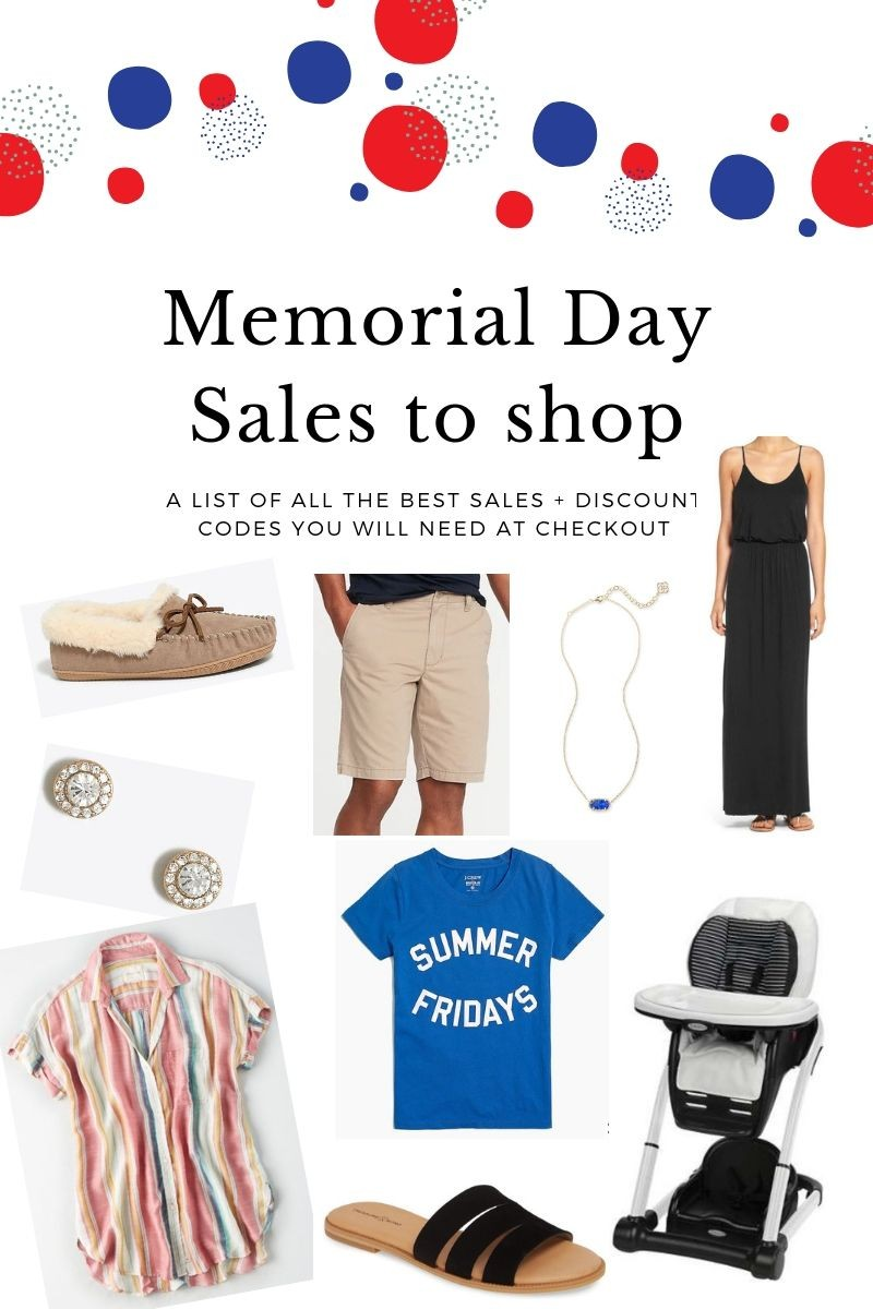 Memorial Day Sales - These Merrilly Days