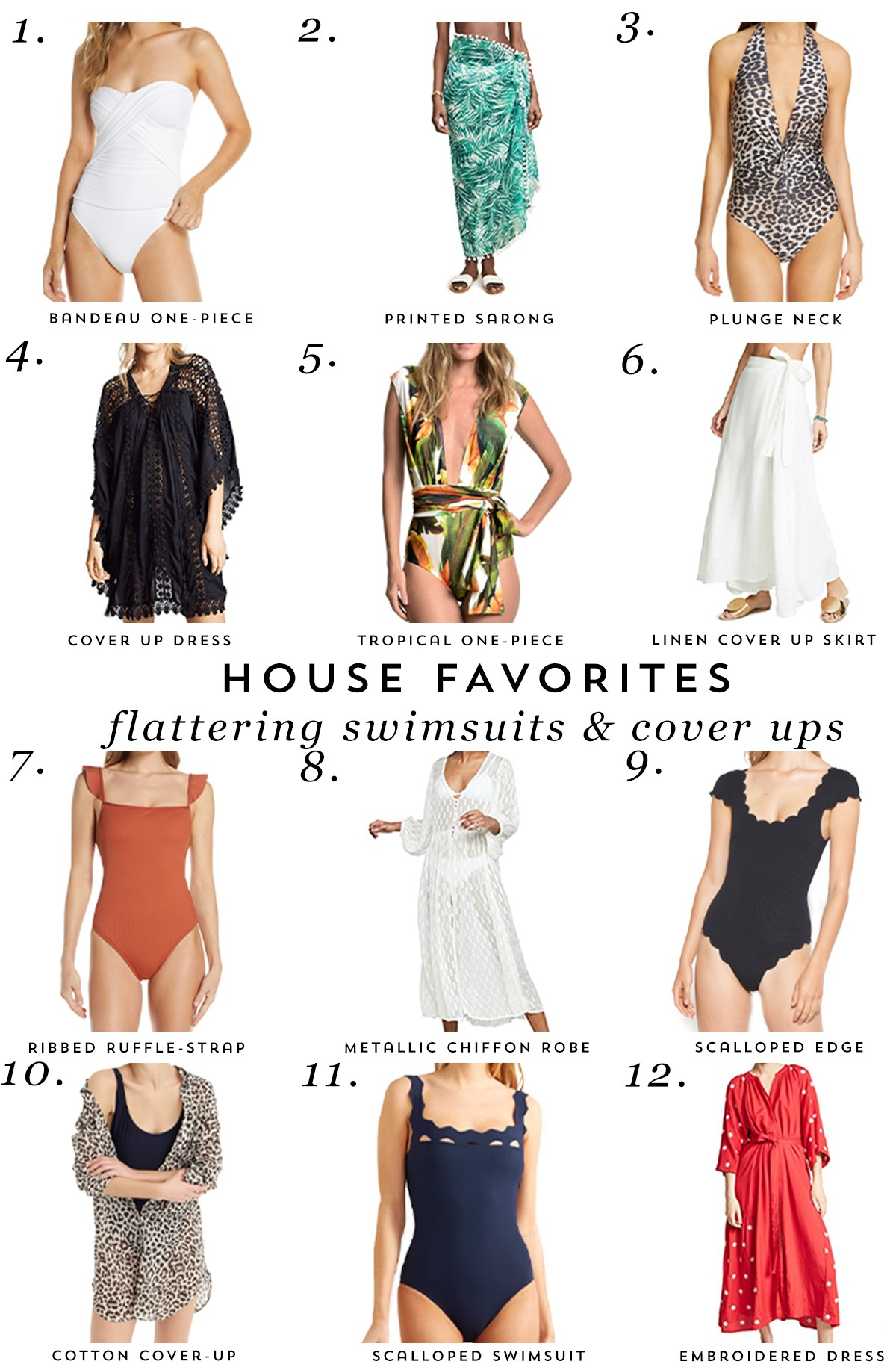 2a3fc1b9cf The boys are in full summer break mode which means lots of time spent at  the pool. I'm always on the lookout for flattering swimsuits and cover ups  to wear ...