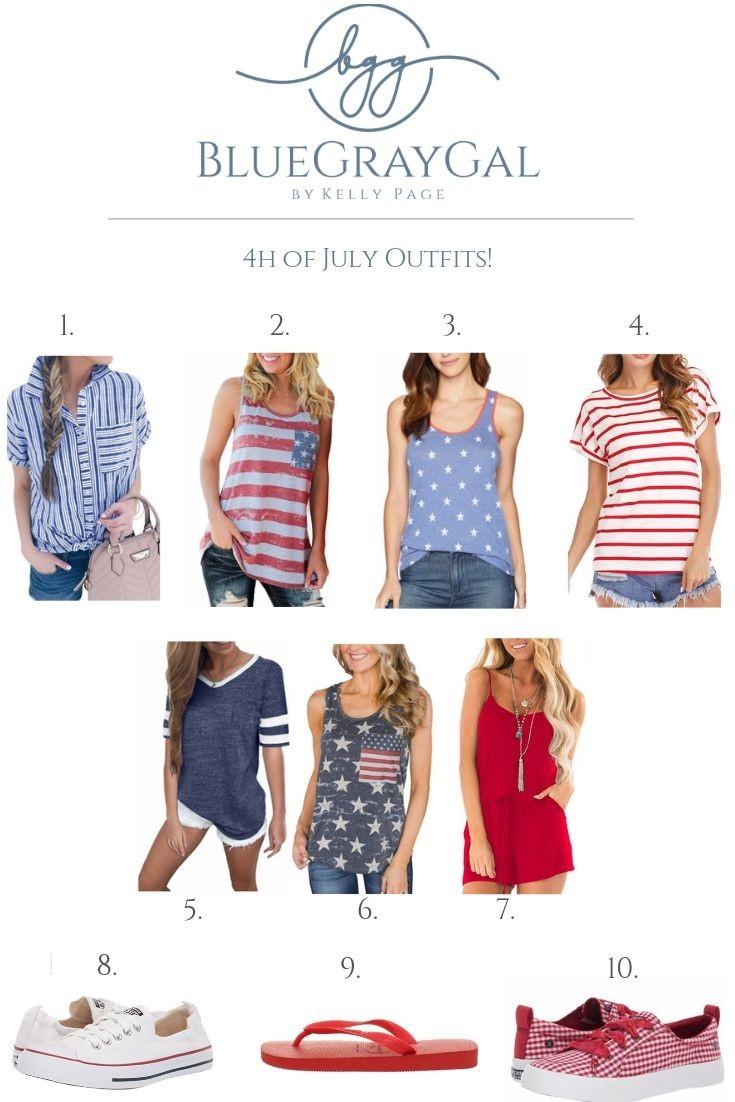 fd18a448da7f3 Amazon Fashion July 4th Shirts under $25 w/ Free Shipping! | BlueGrayGal
