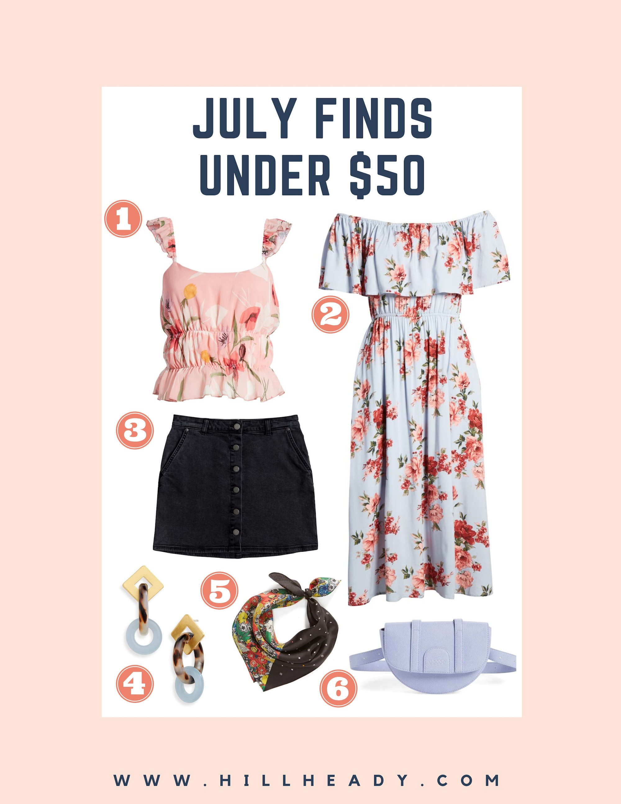 2fcf5a89a3c July Finds Under $50 + Nordstrom Giveaway - hillheady