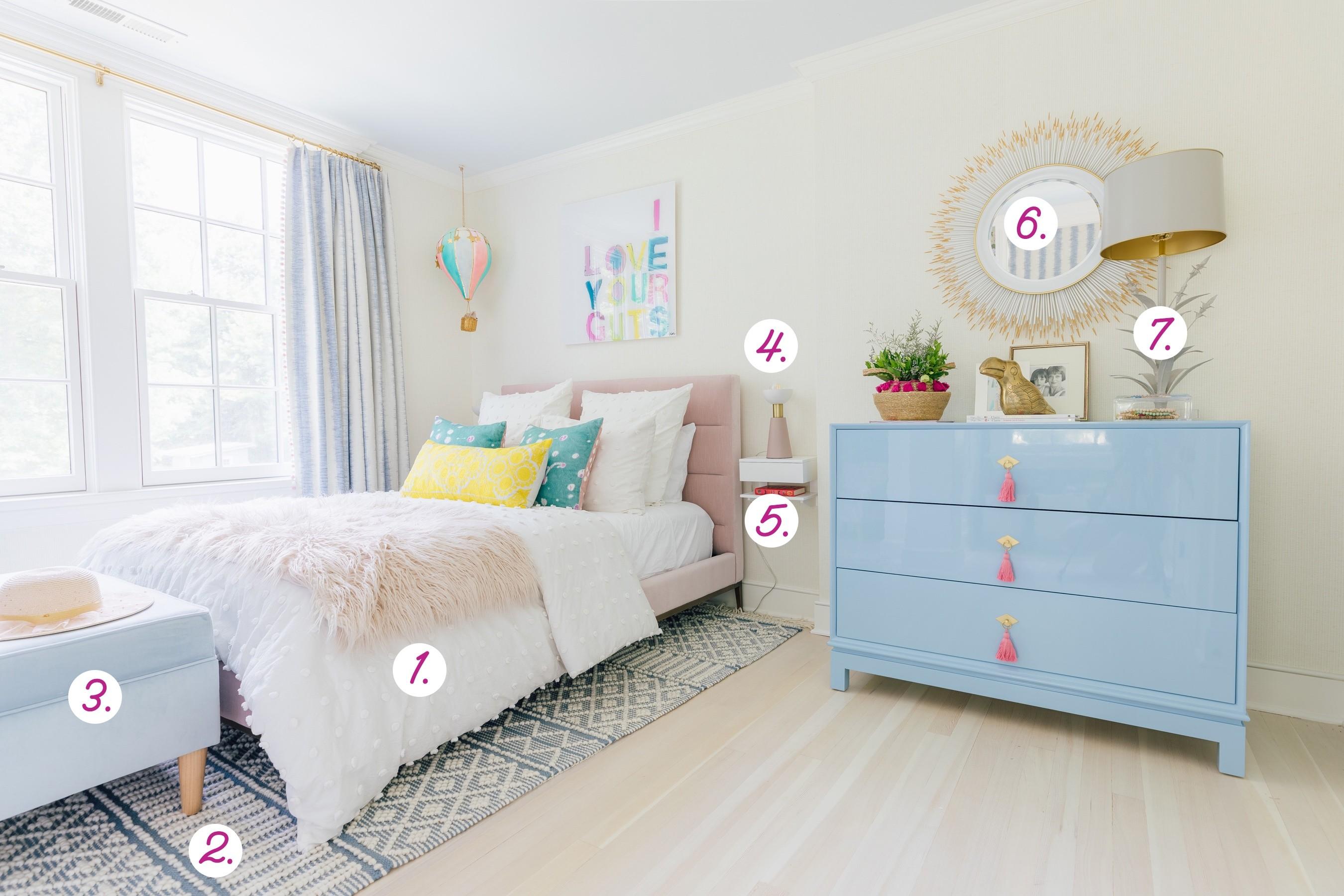 Strange Marlowes Bedroom Reveal Happily Eva After Andrewgaddart Wooden Chair Designs For Living Room Andrewgaddartcom