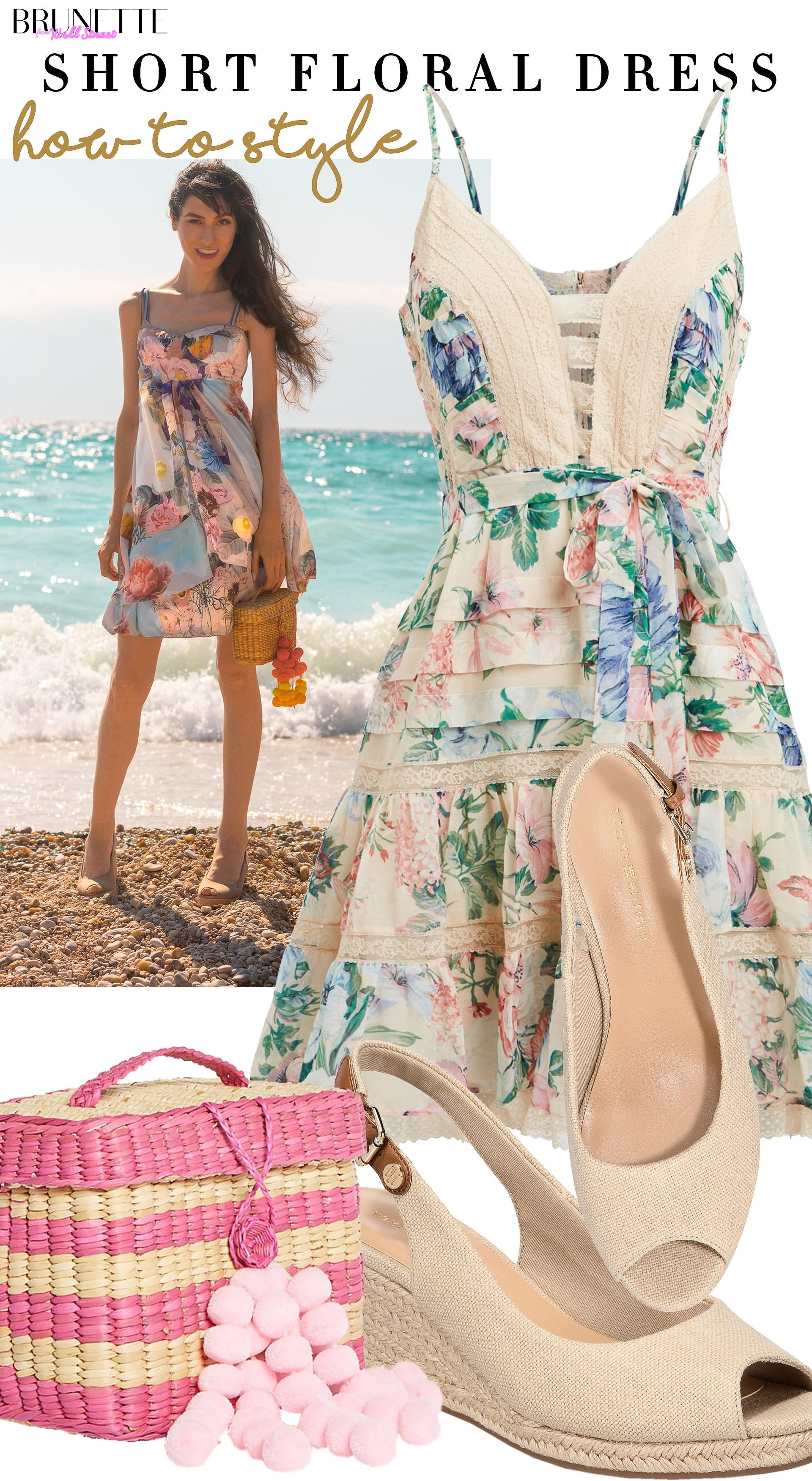 Beautiful Beach Wedding Guest Dress Brunette From Wall Street