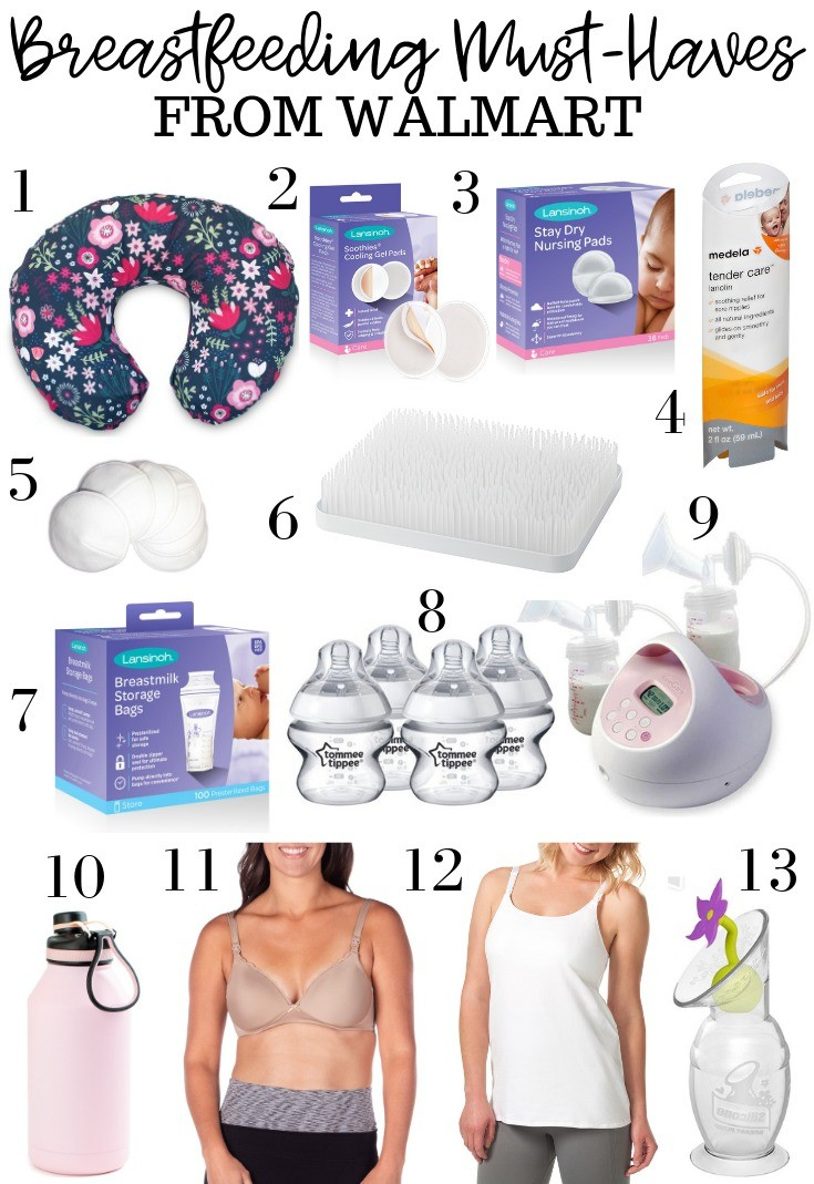 My Breastfeeding Must Haves With Walmart Brie Bemis Rearick