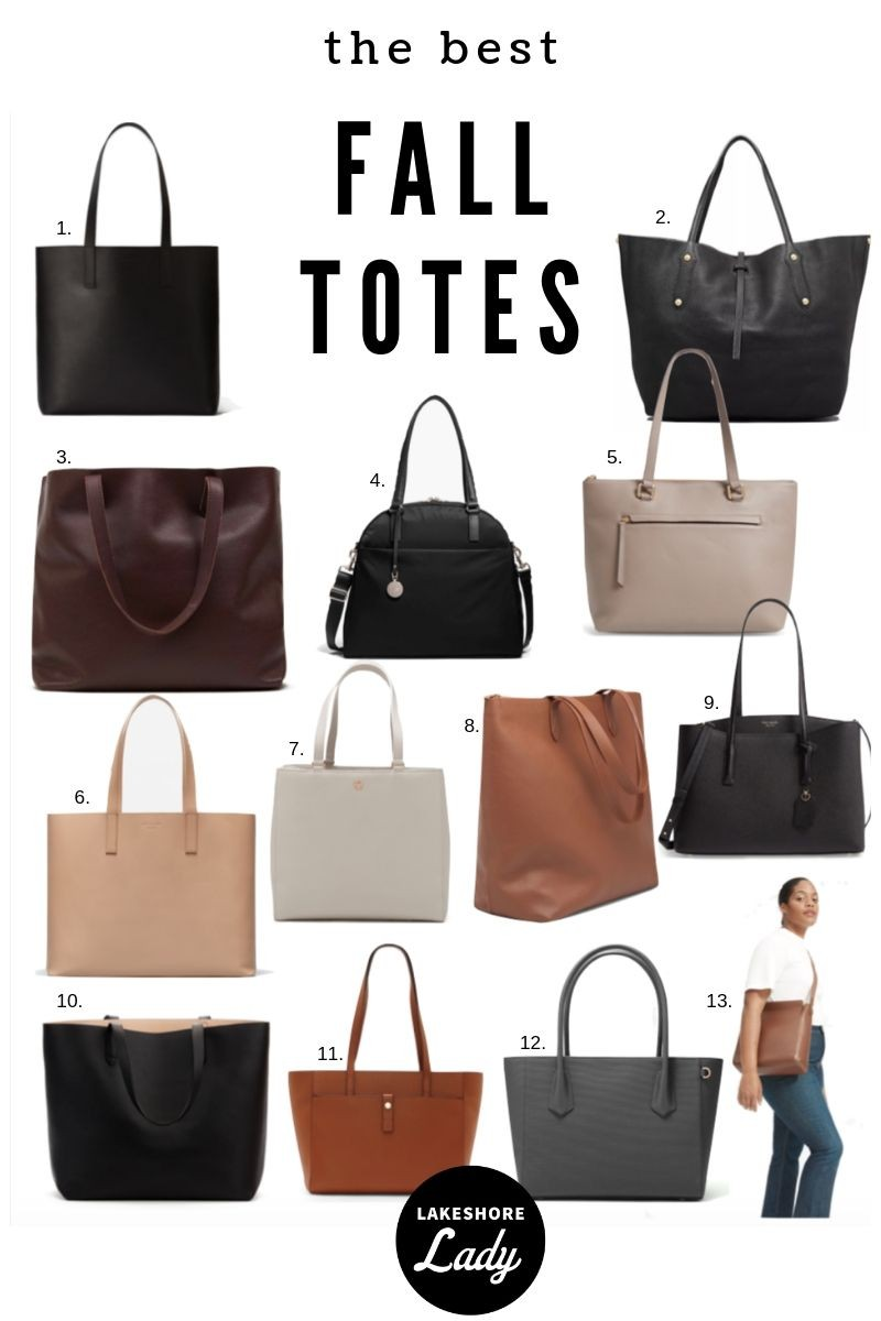 The Best Tote Bags For Work Fashion Forward Fall Lake