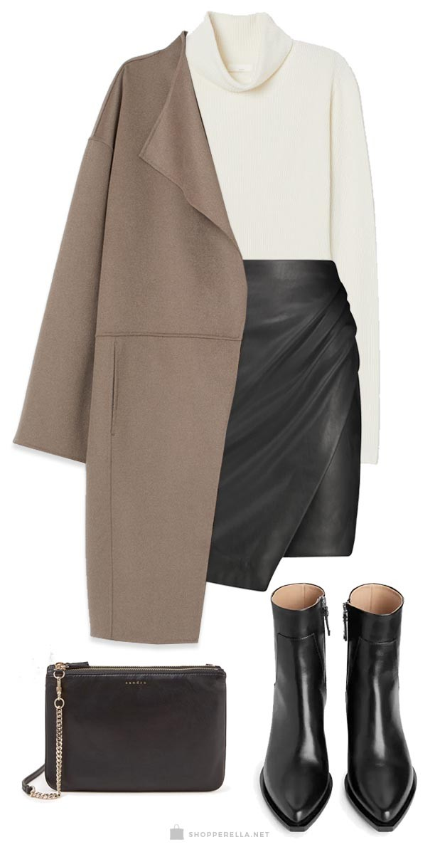 Goede Drie manieren om een zwarte rok te combineren - Shopperella ES-63