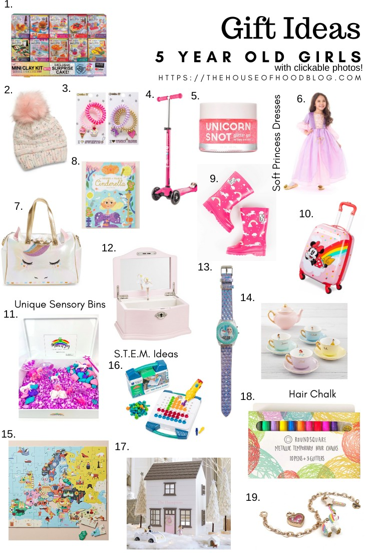 Holiday Gift Guide Gift Ideas For 5 Year Old Girls The