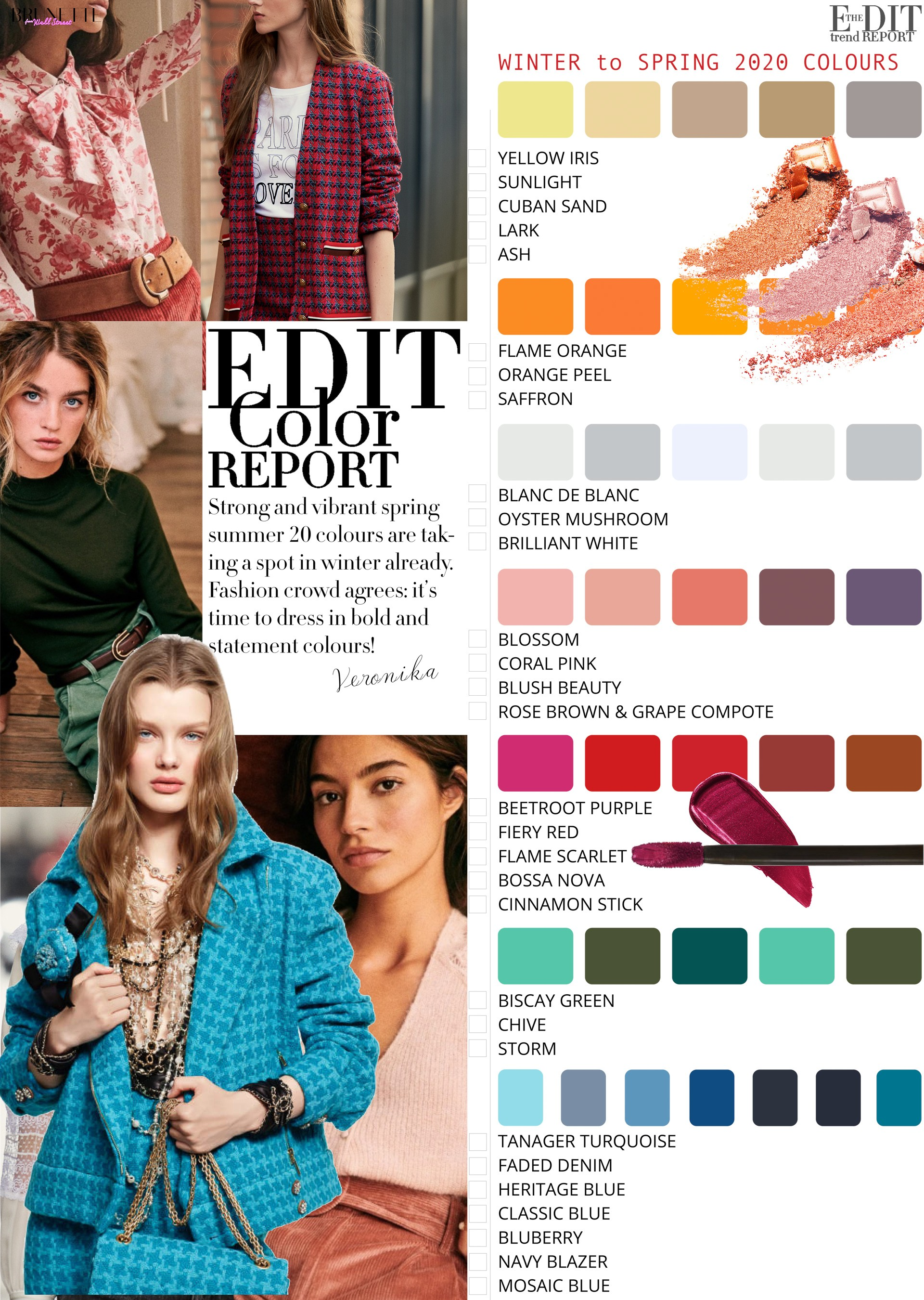 Color Street Spring 2020.2019 20 Winter Color Trends Brunette From Wall Street