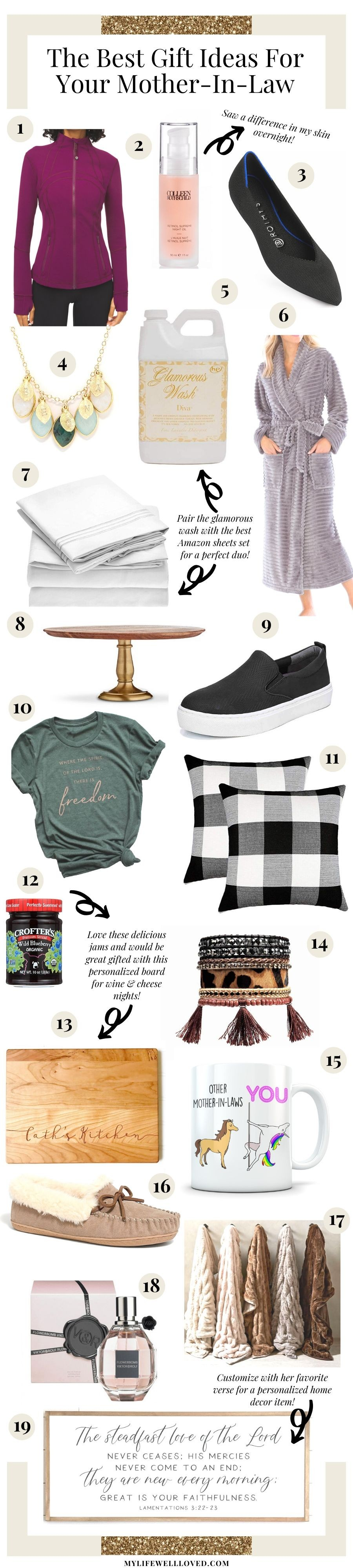 50 Gift Ideas For Mother In Law Or Sister In Law My Life