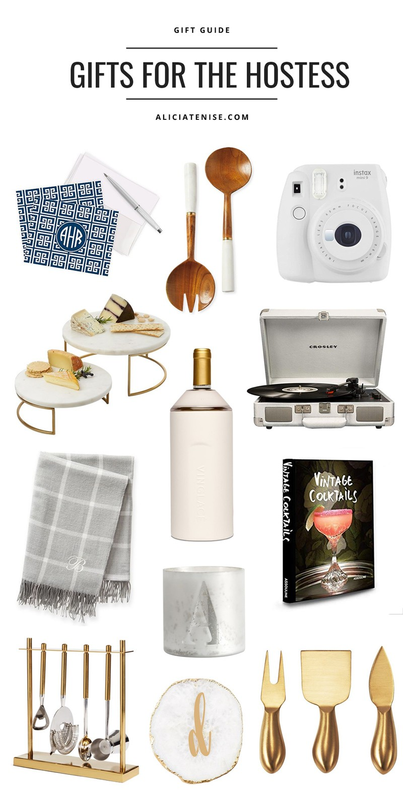 Top 12 Best Hostess Gifts Holiday Gift Guide Alicia Tenise