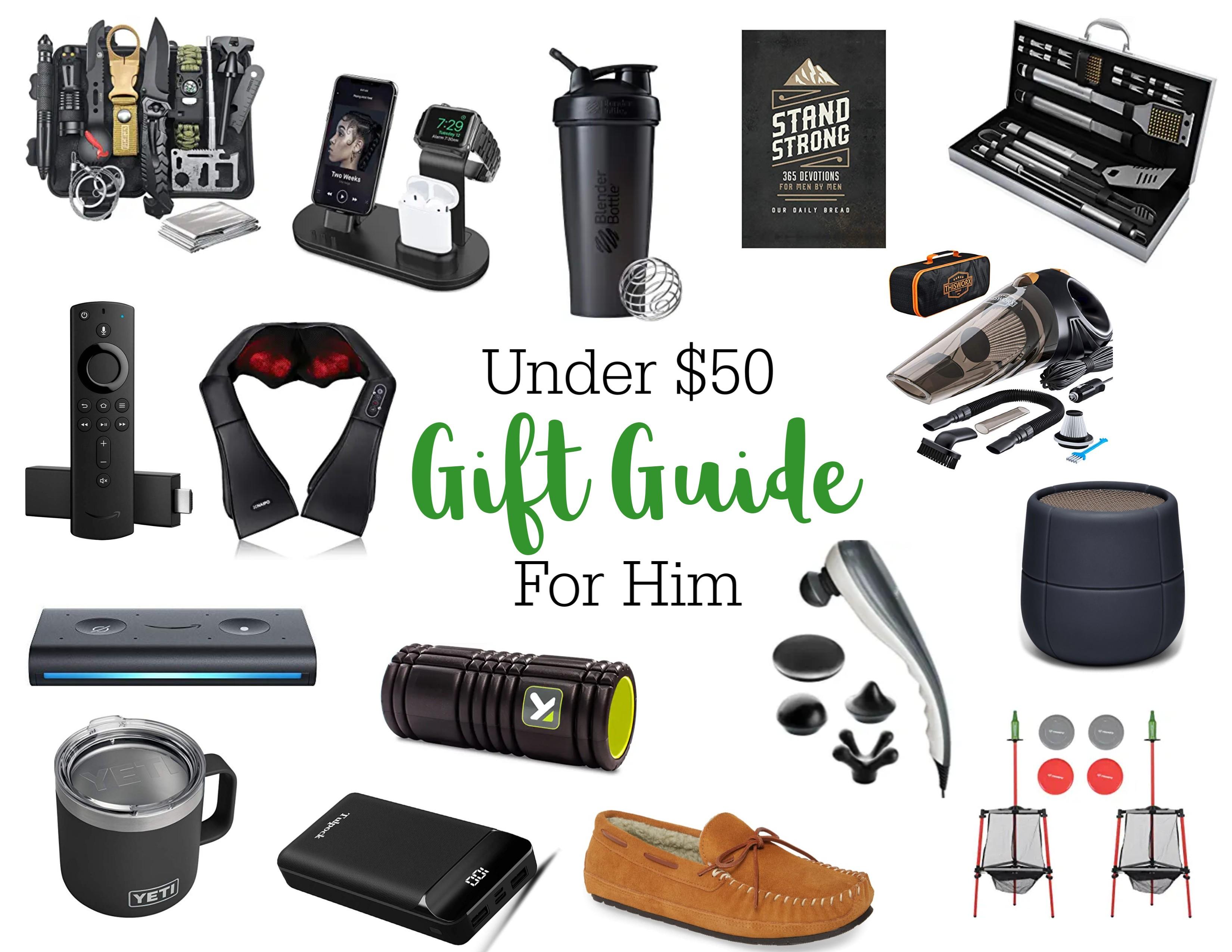 Gift Ideas for Him Under $50 - Vogue