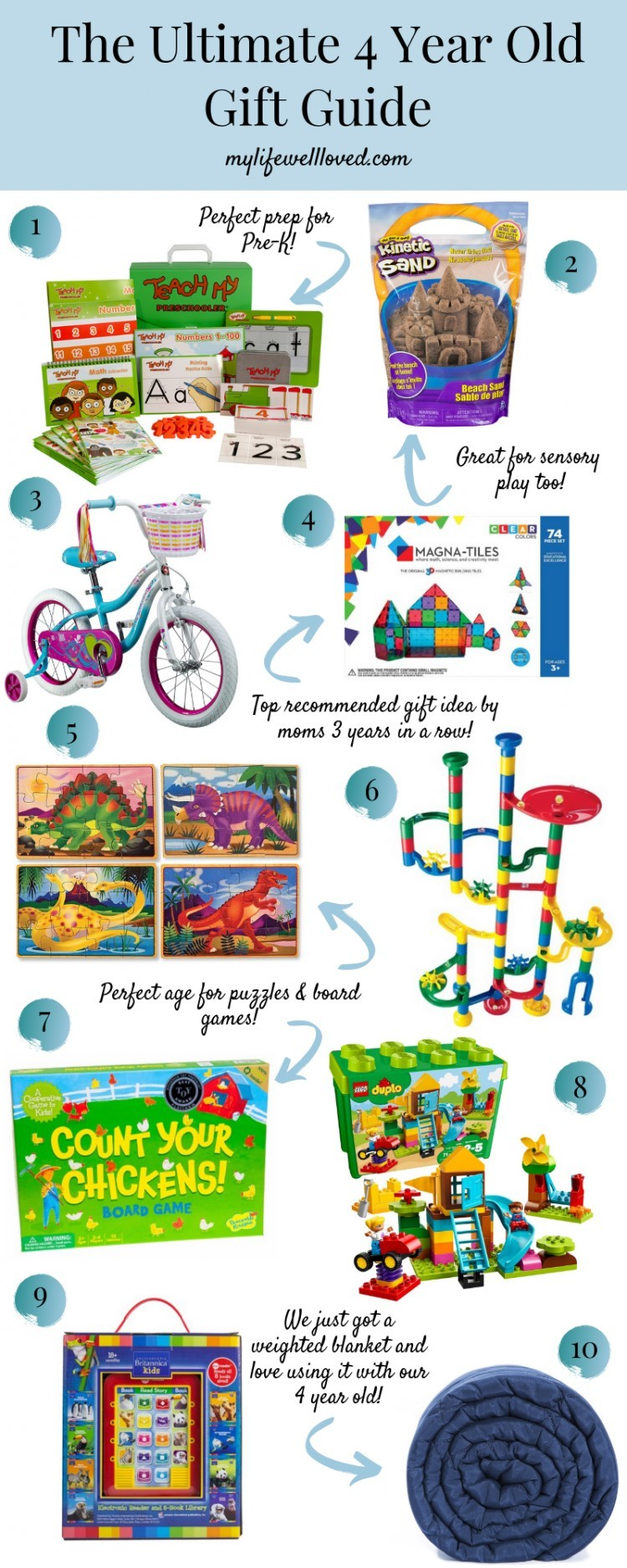 Best Gifts For A 4 Year Old Boy Or Girl My Life Well Loved