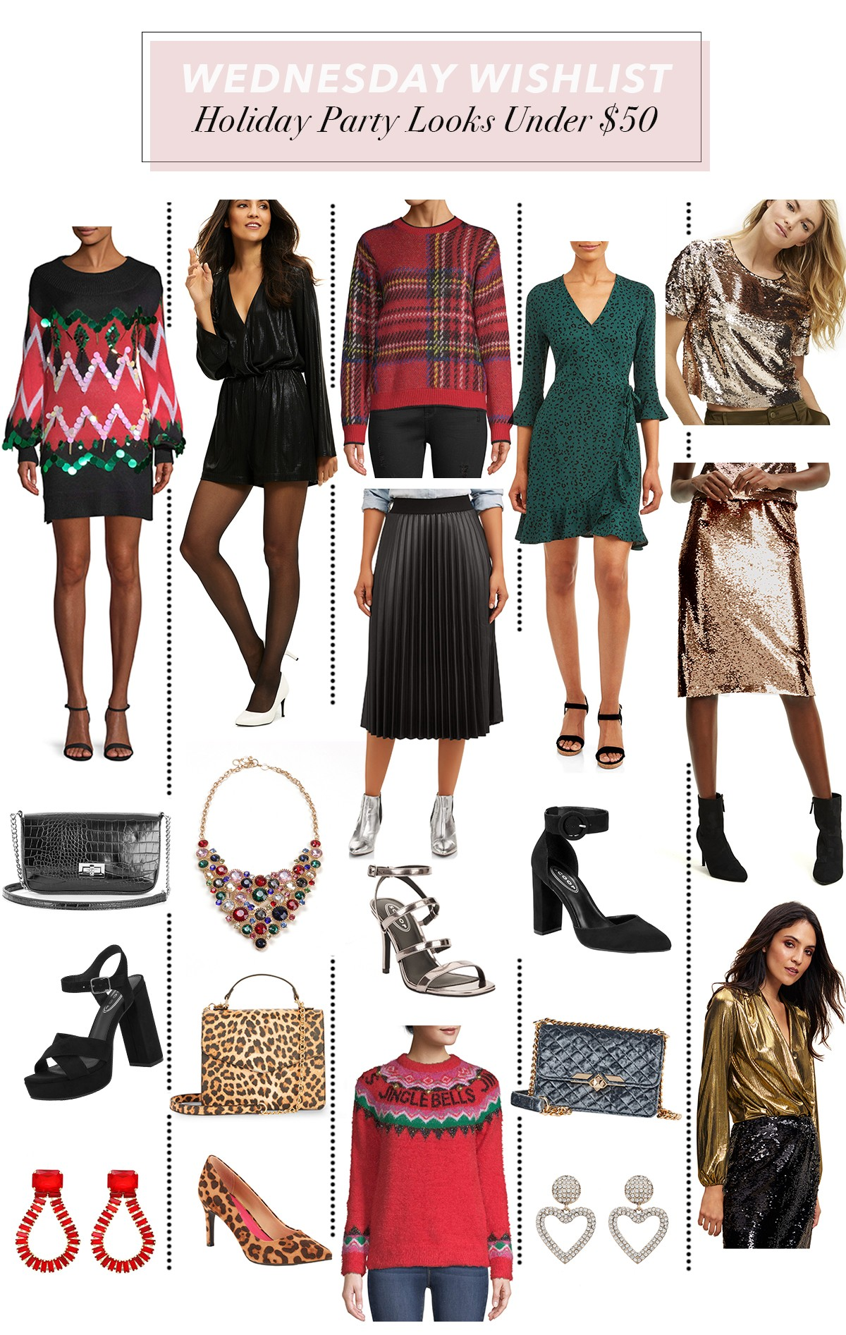 Holiday Party Outfit Ideas Under $11  Wednesday Wishlist