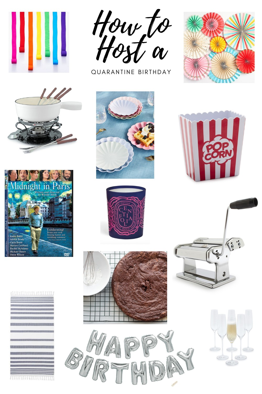 Ideas For Planning A Quarantine Birthday Party Every Day Parisian Every Day Parisian