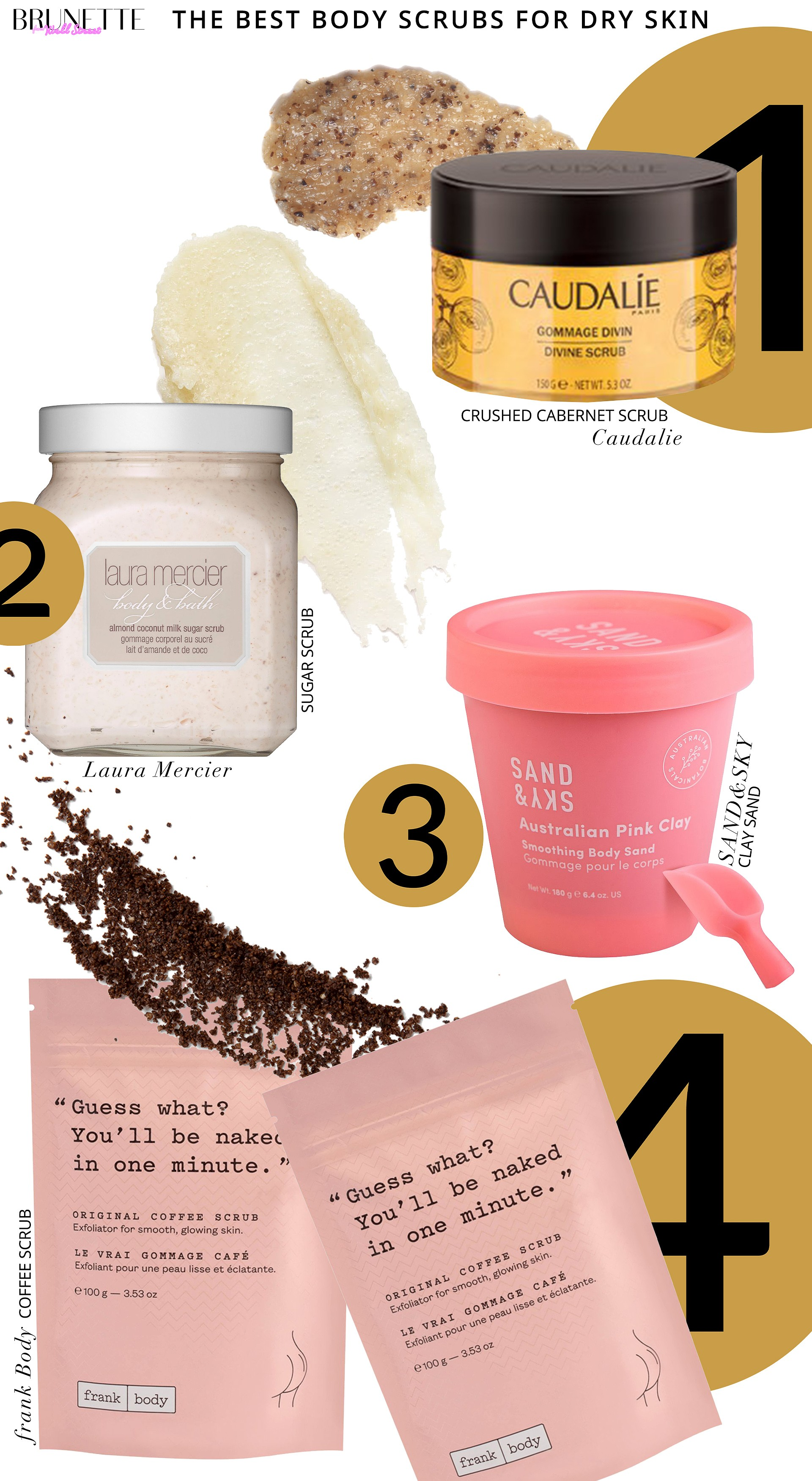 The Best Body Scrubs For Dry Sensitive Skin Brunette From Wall