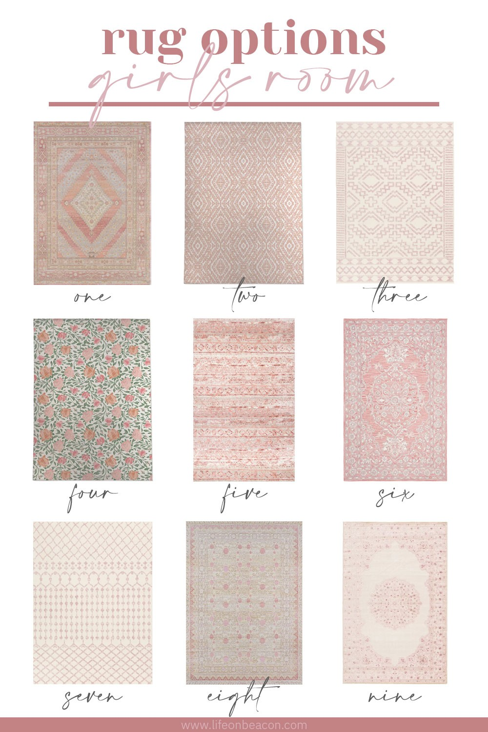 Pink Rugs For A Little S Room