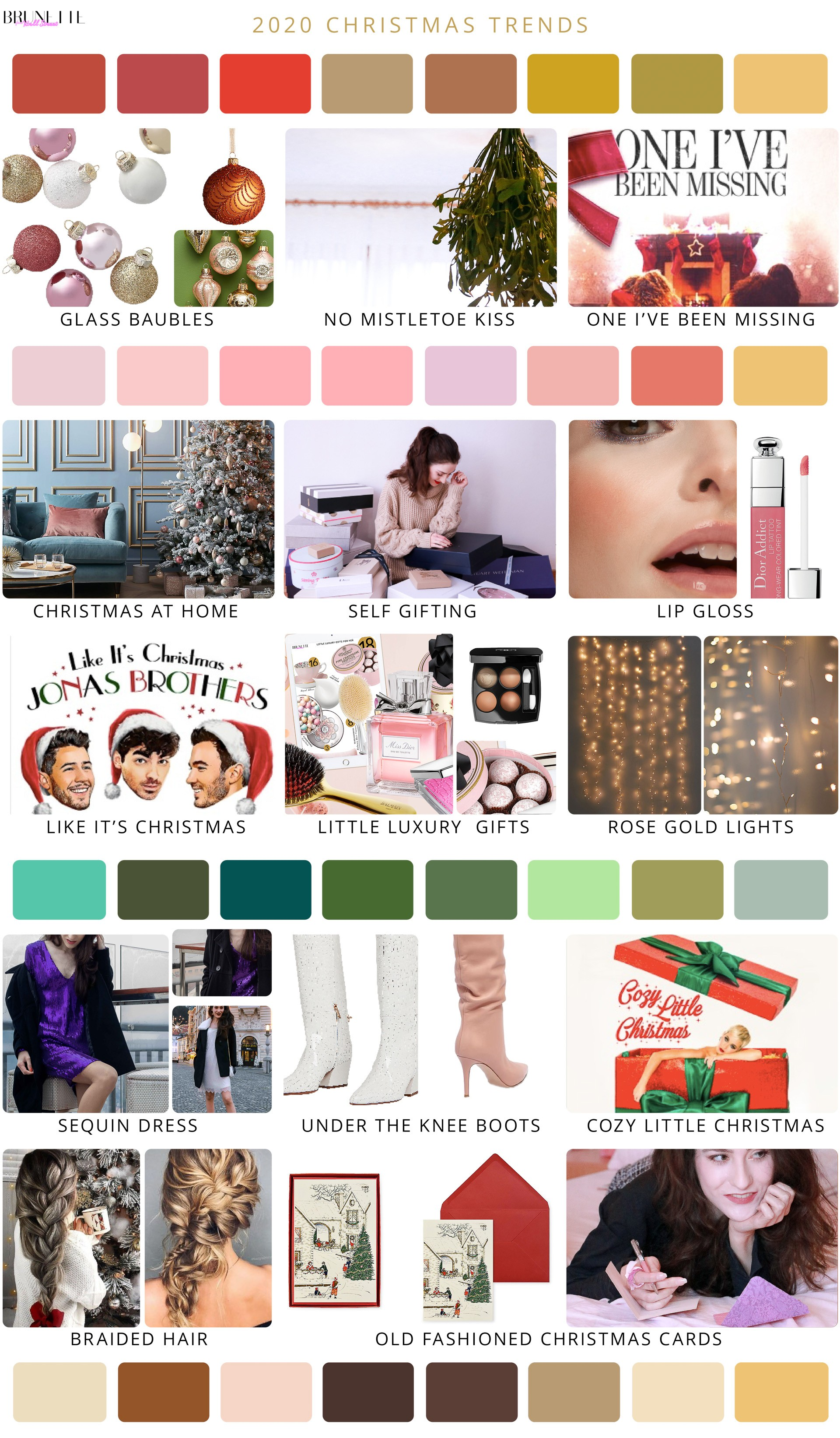 Whats Trending For Christmas 2020 What are Christmas trends for 2020? | Brunette from Wall Street