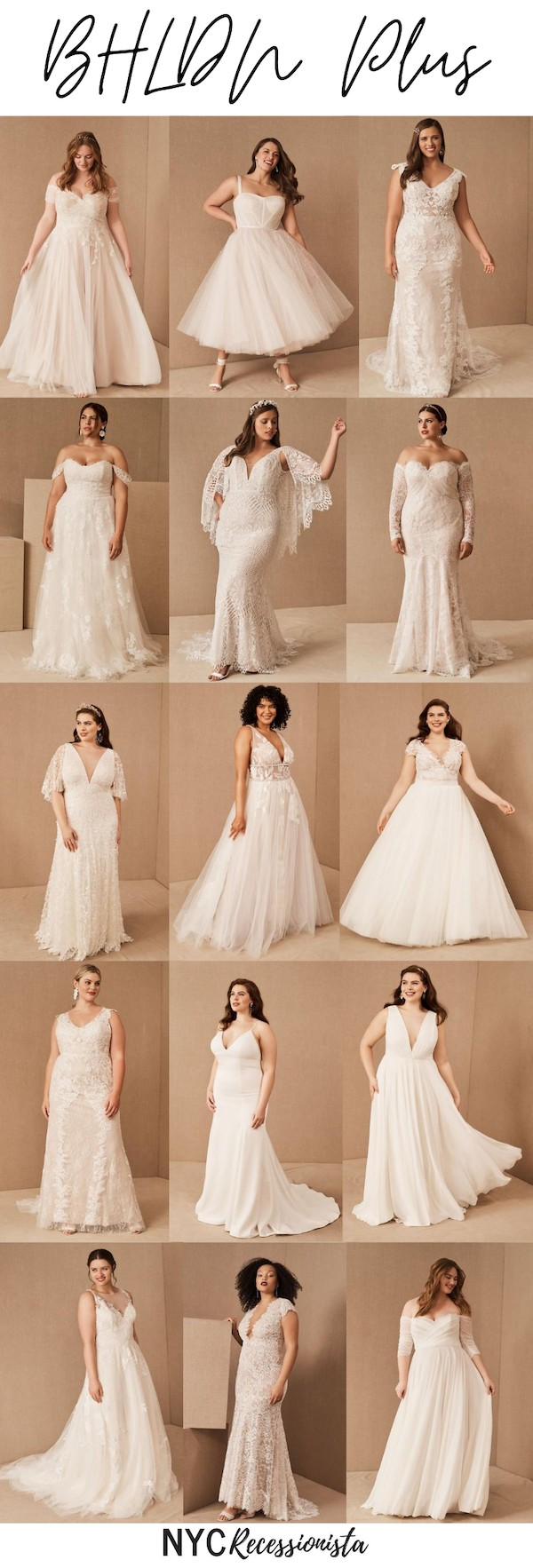 Introducing Bhldn Plus Wedding Dresses Nyc Recessionista