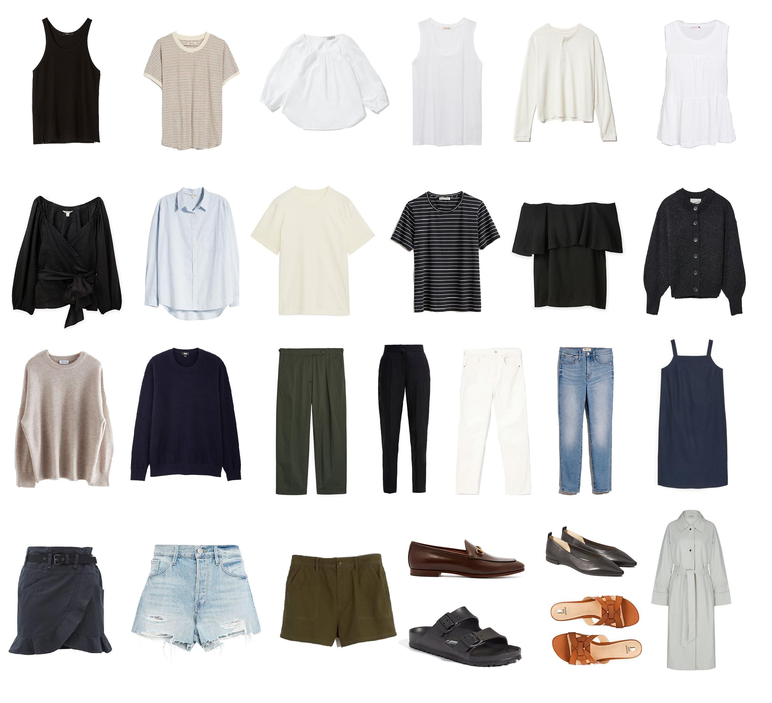 The Minimal Wardrobe Archives Mademoiselle A Minimalist Fashion Blog