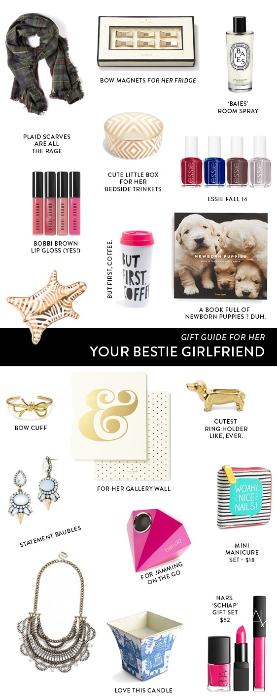 gift guide for her: The Bestie GF