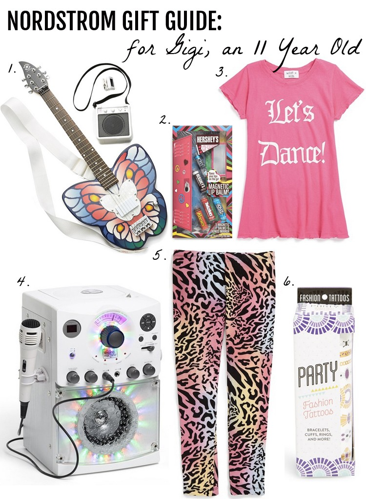 Nordstrom Gift Guide: for Gigi an 11 Year Old Girl