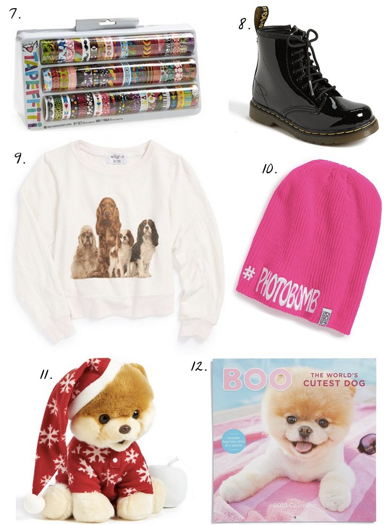 nordstrom gift guide for gigi an 11 year old girl
