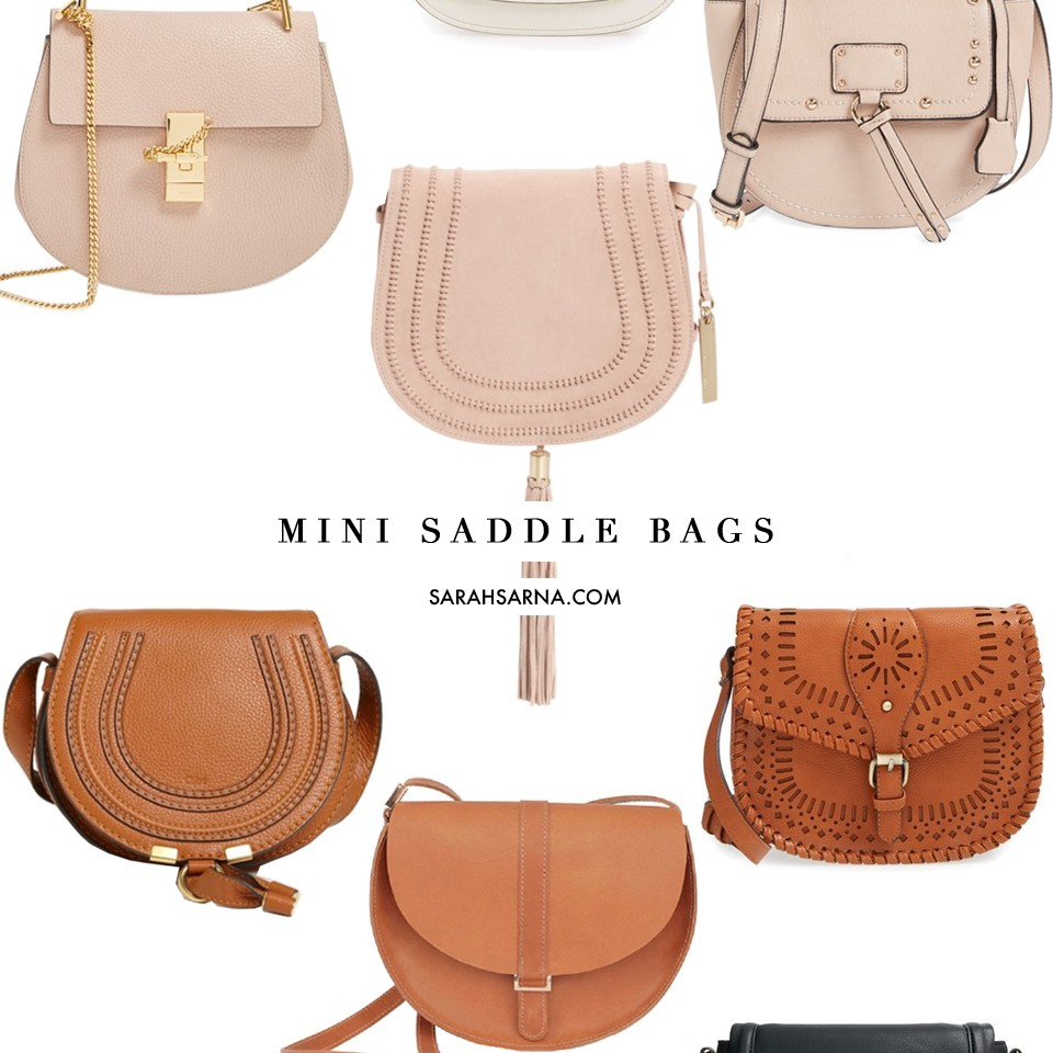 af7813e85 Classic Mini Saddle Bags to Invest In