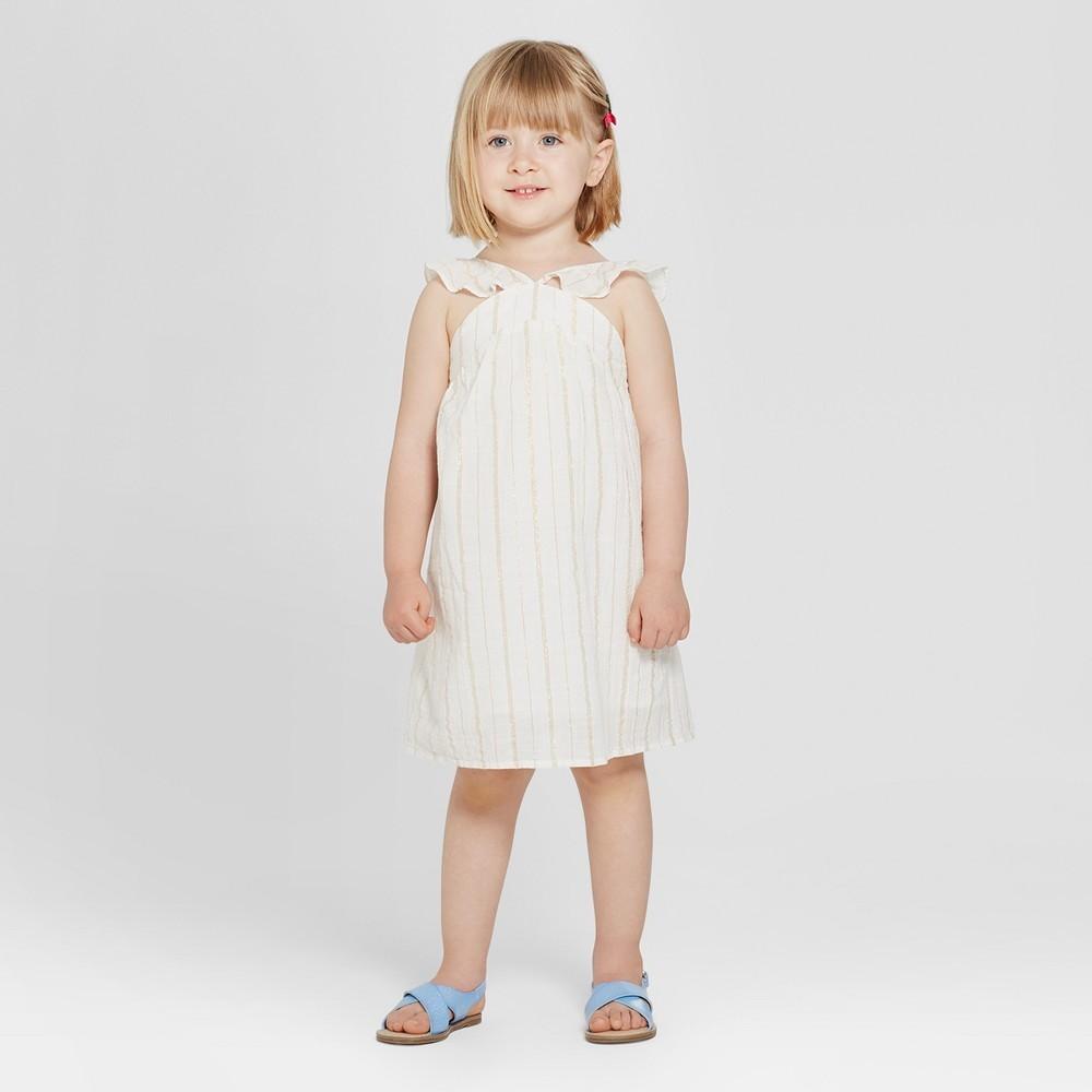 45622863b Toddler Girls Lace And Tulle Flower Girl Dress Tevoliotm White ...