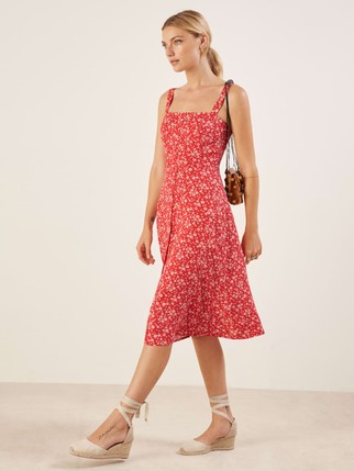 0b0d69d0268 A Reformation Dress Try-On Sesh - The Mom Edit