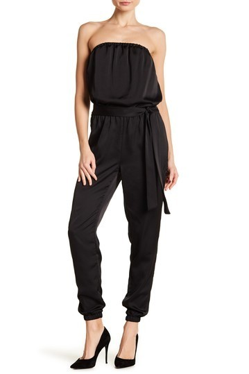 254044123fb8 I chose this black Gal Meets Glam jumpsuit for the New Years festivities  this year and love the versatility!